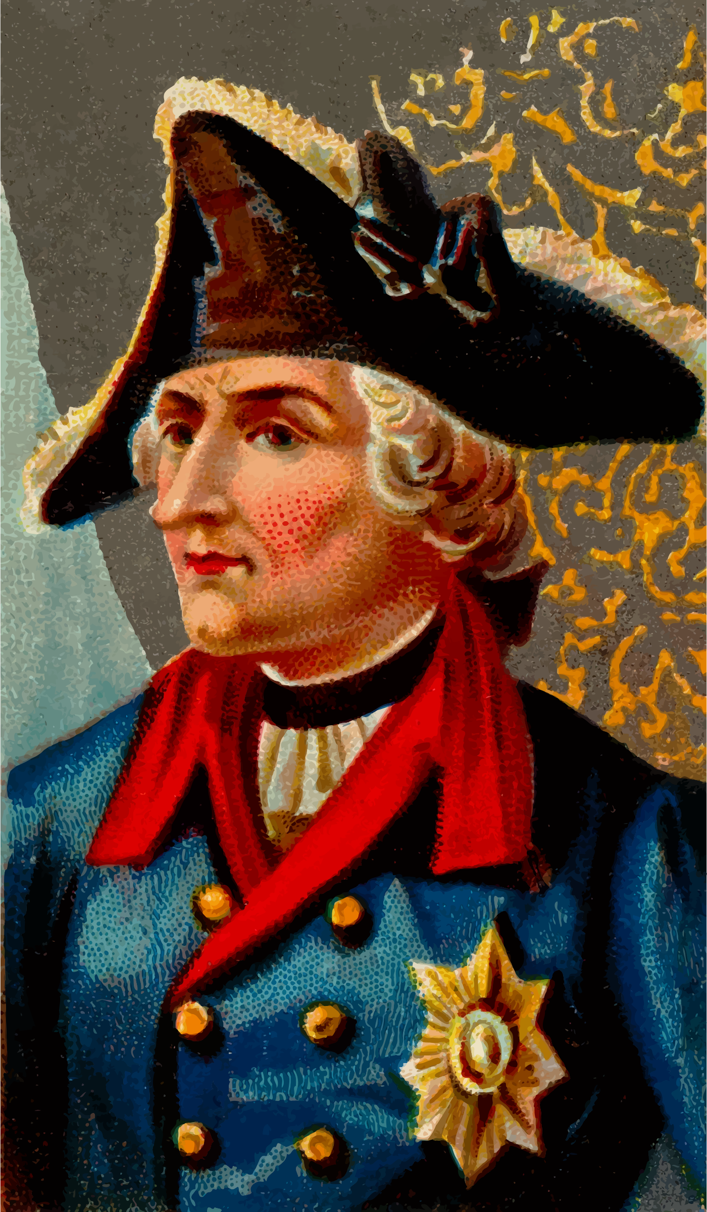 Cigarette card - Frederick the Great by Firkin