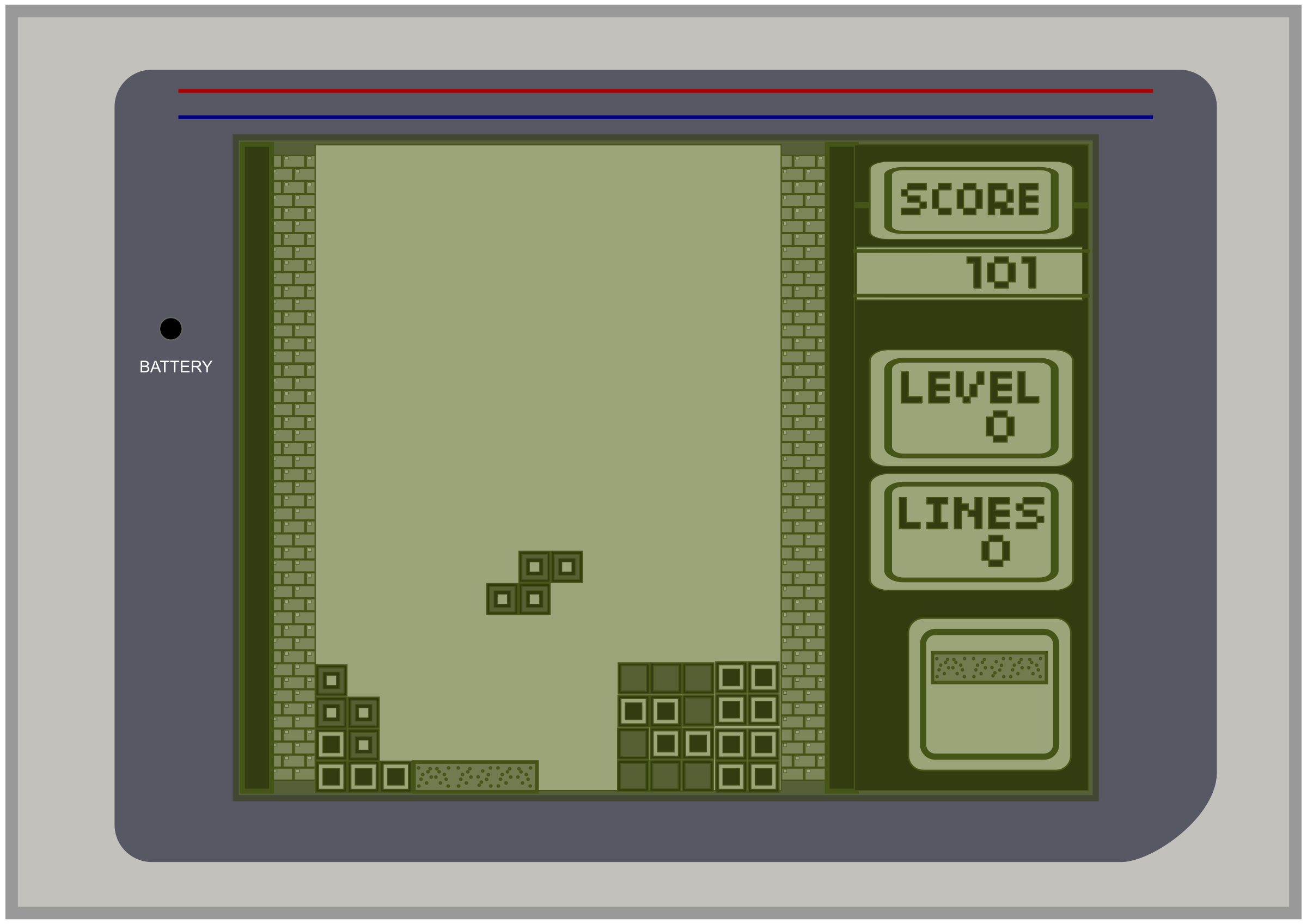 TETRIS 1986 by dordy