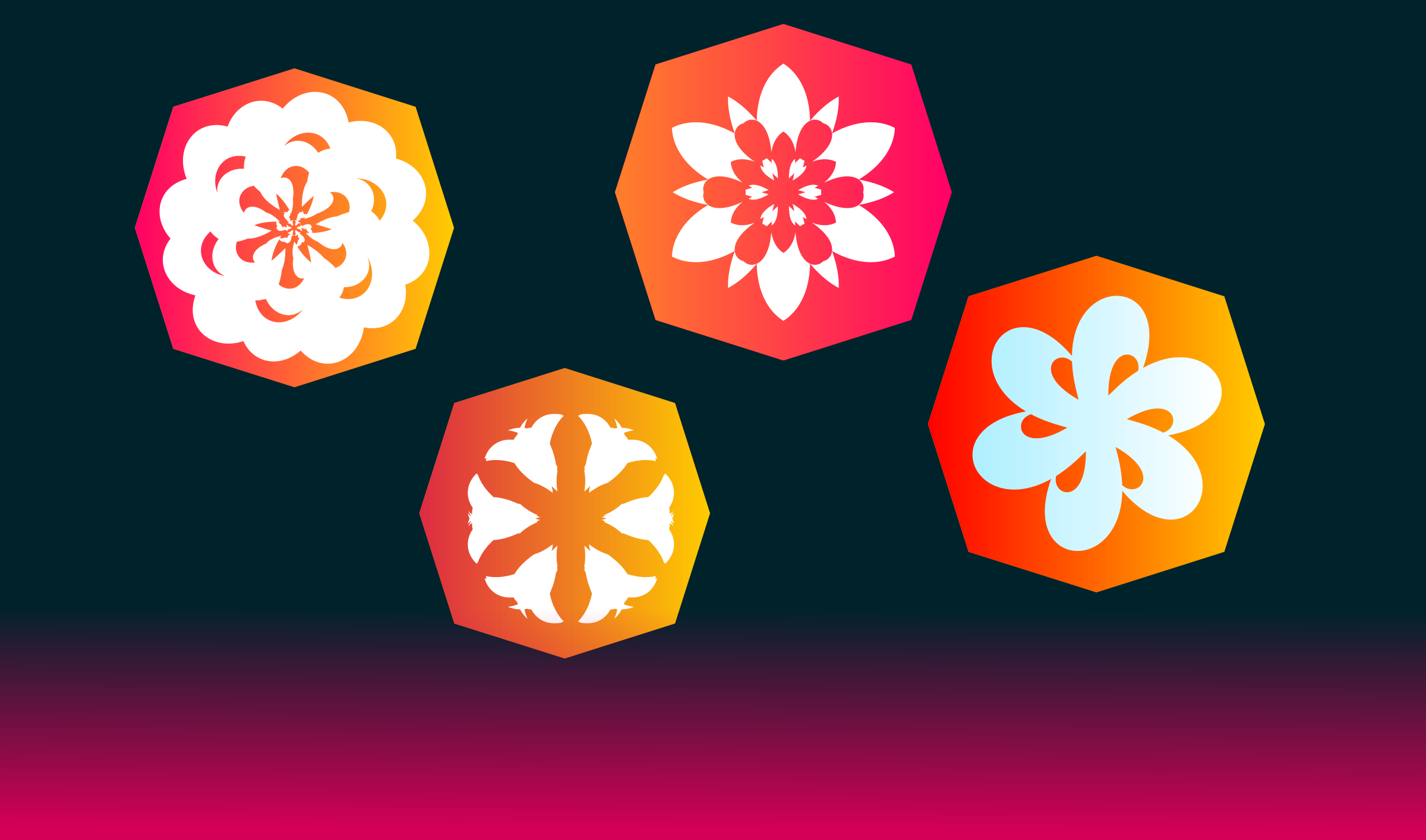 flowers icons by QMC.media