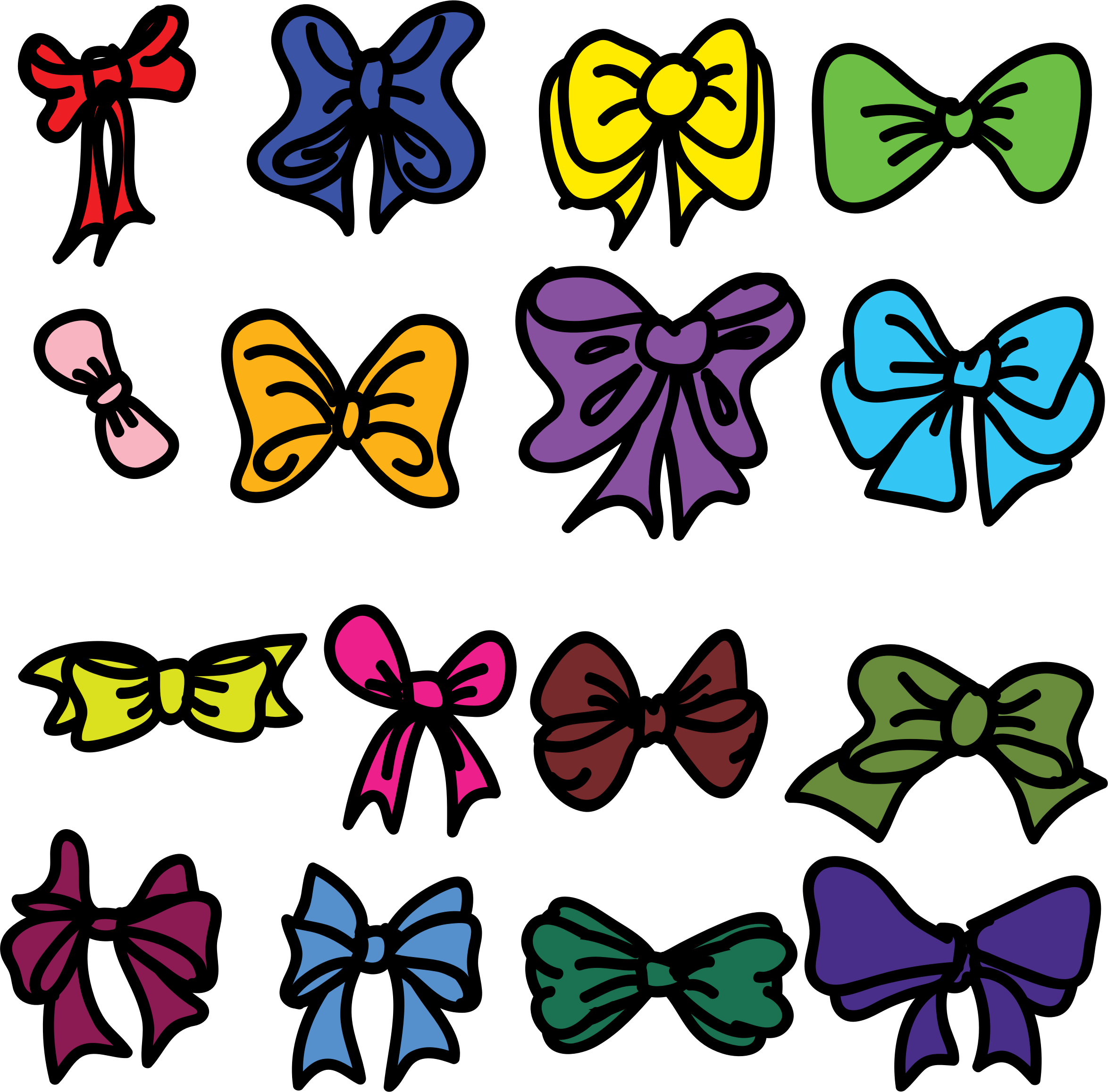 Collection Of Bows by Mahua Sarkar