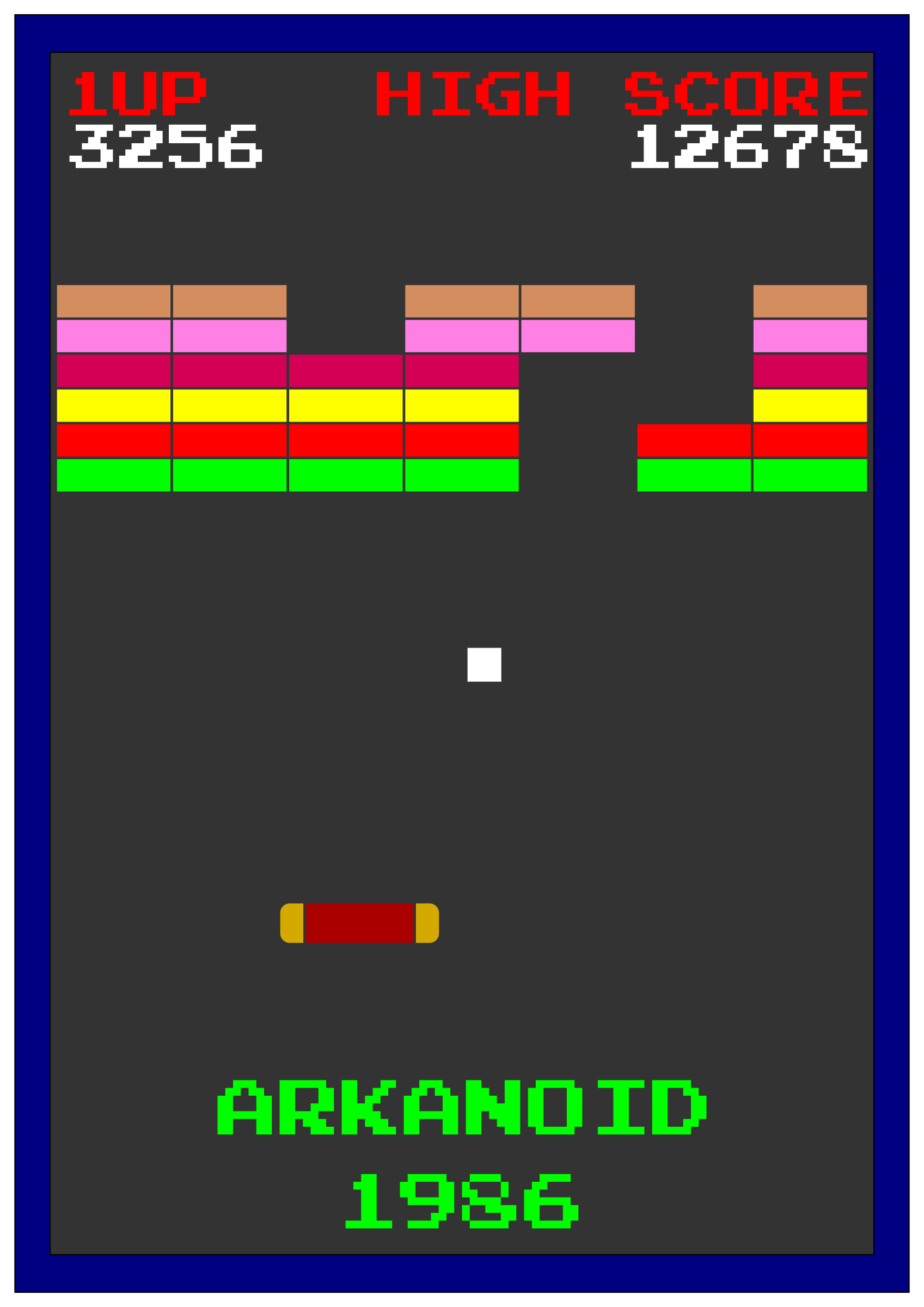 ARKANOID 1986 by dordy