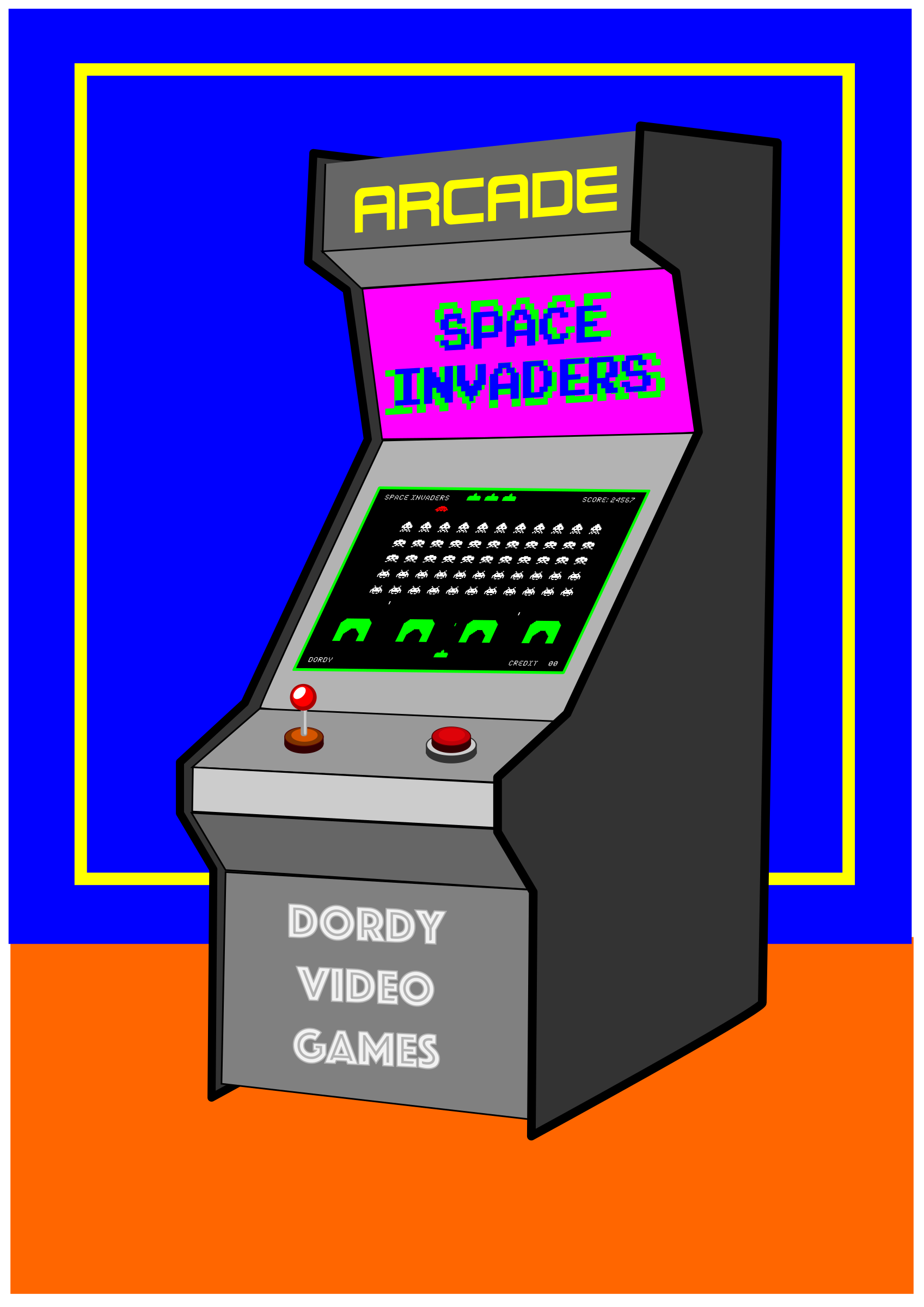 VIDEO GAMES ARCADE by dordy