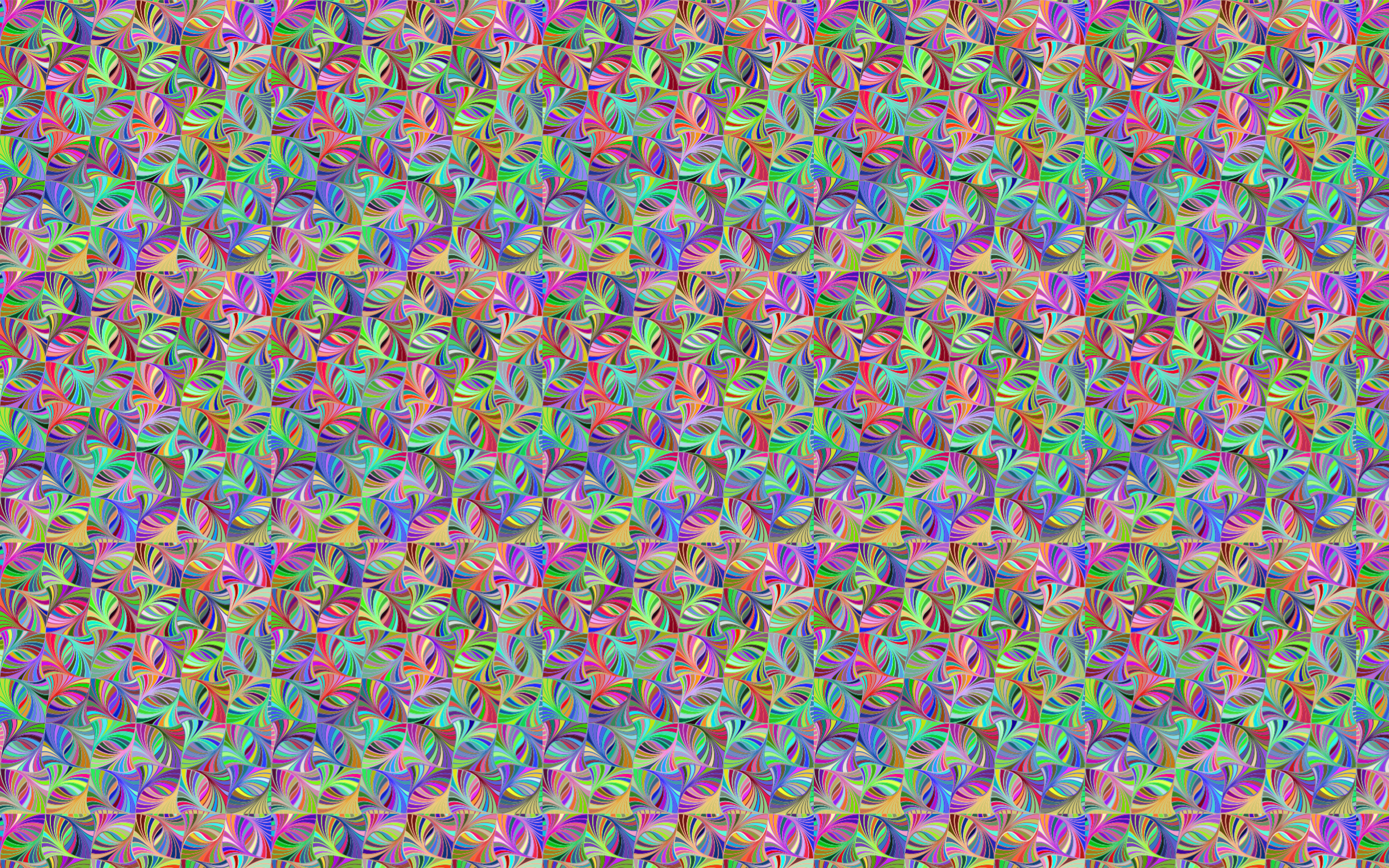Seamless Hypnotic Geometric Pattern Prismatic by GDJ