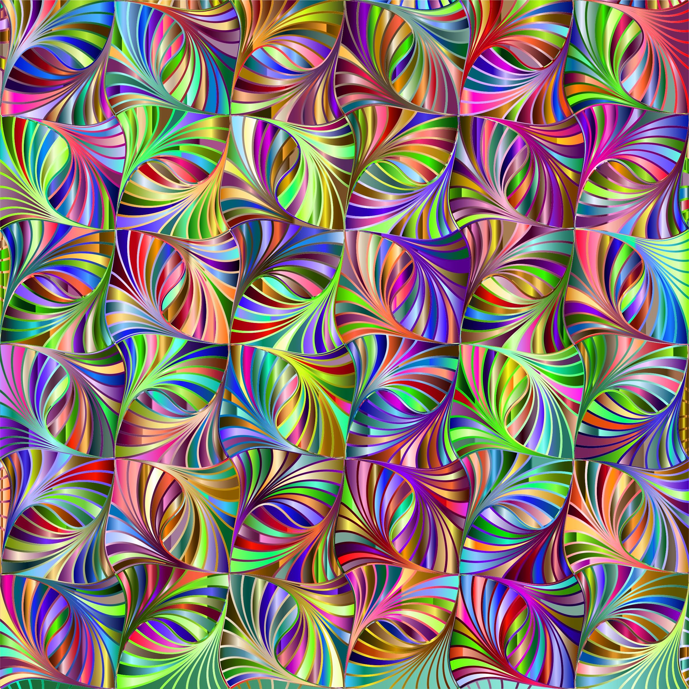 Prismatic Abstract Geometric Background 3 by GDJ
