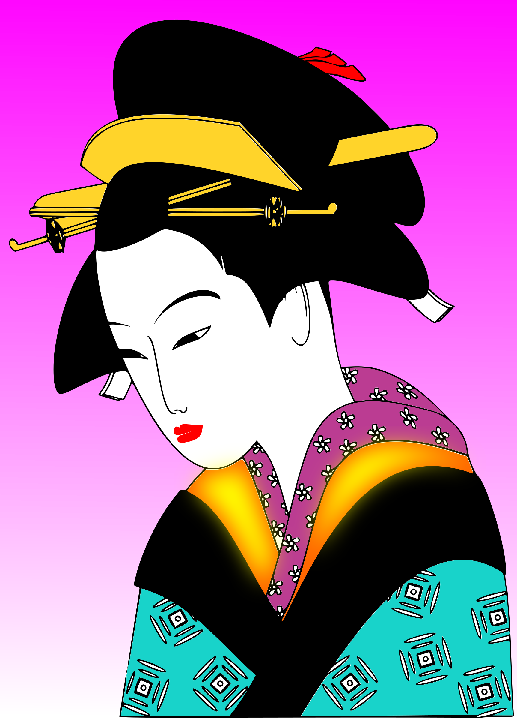 japan woman svg by valessiobrito