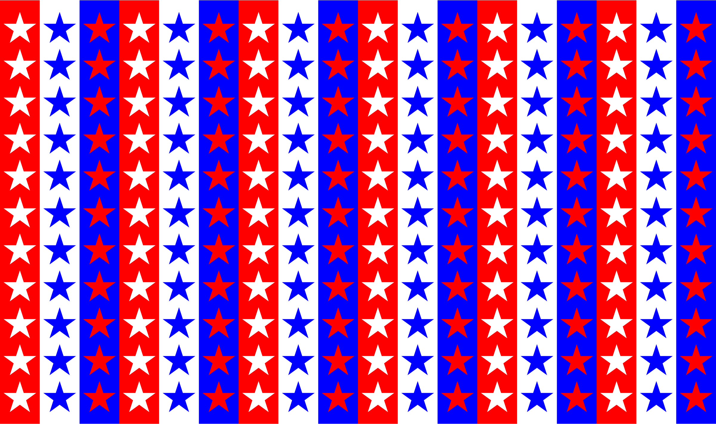 Clipart - Red White Blue Stars Background - photo#14