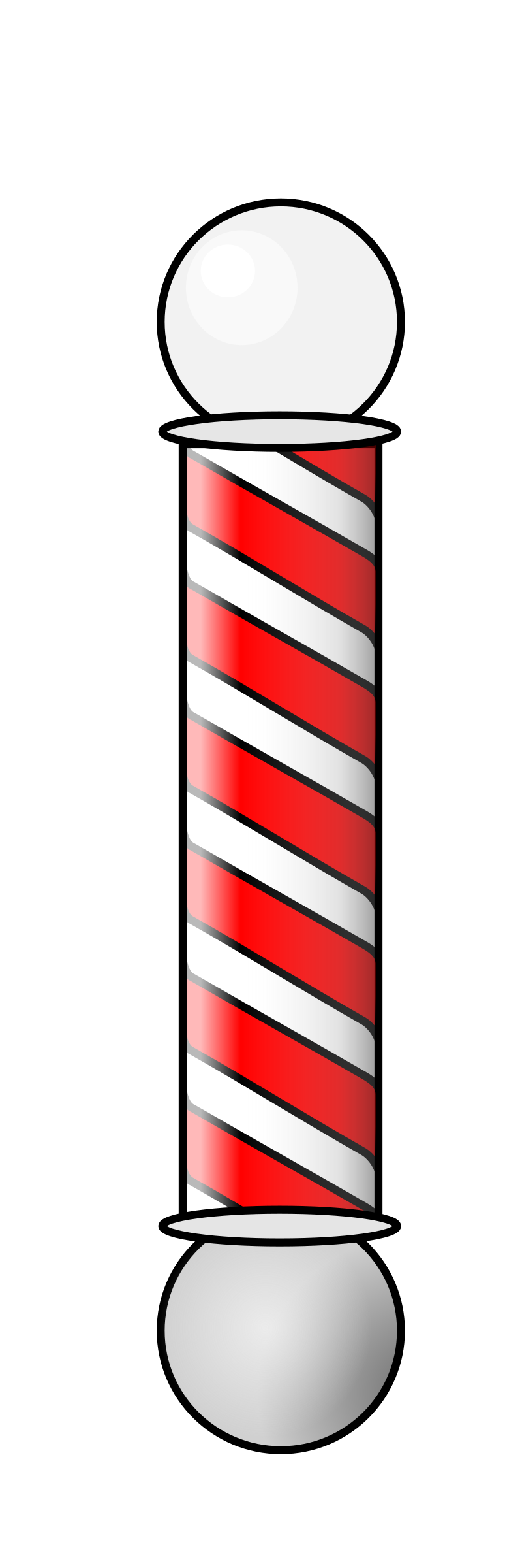 BarberShop Pole 1 SMIL Animation by aukipa