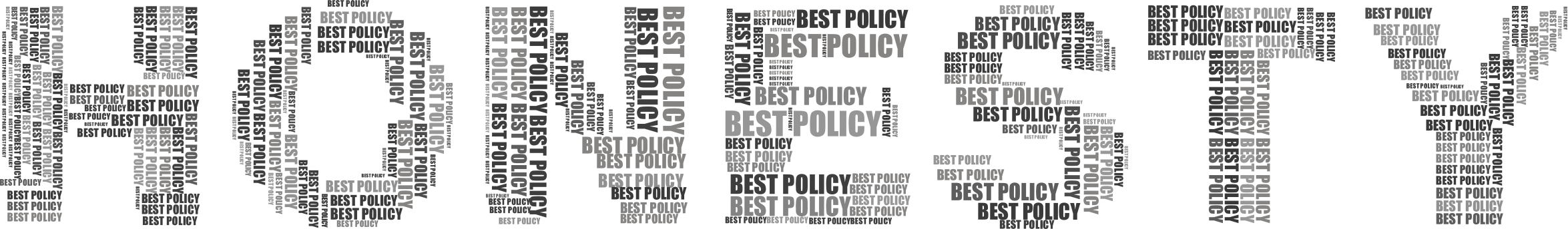 Best Policy Grayscale by GDJ