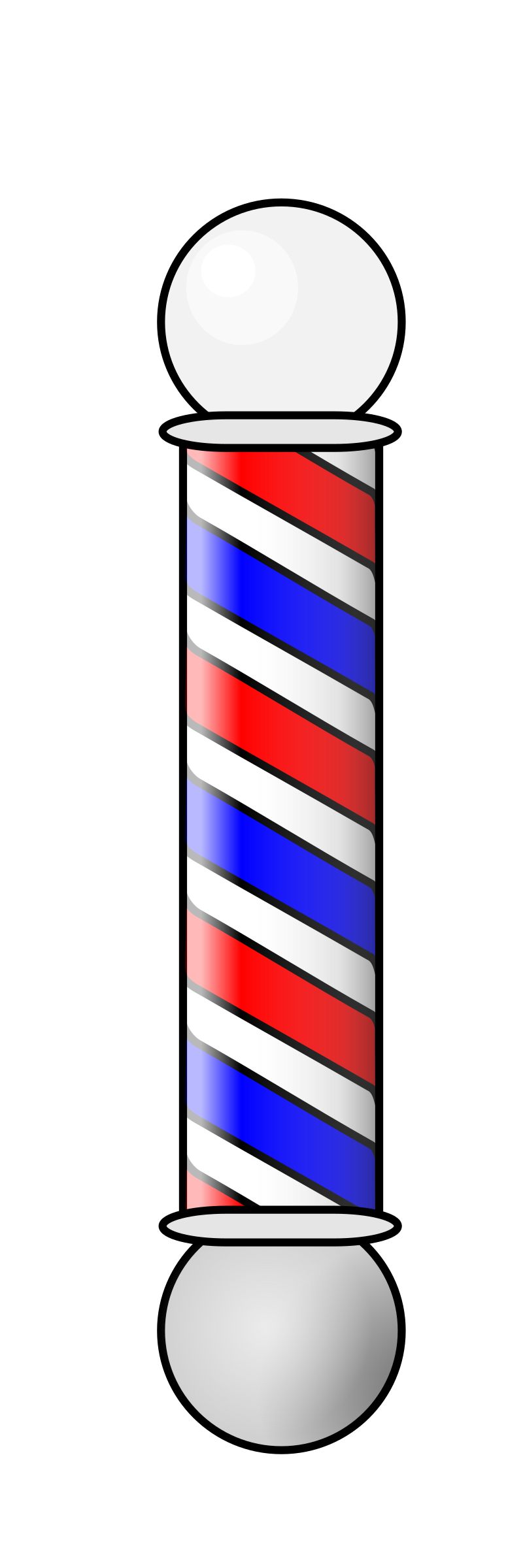 BarberShop Pole 2 Animation by aukipa