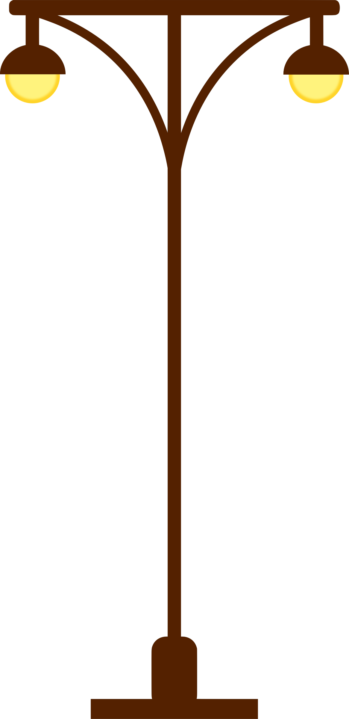 Clipart - Street lamp post vectorized for Street Lamp Post Vector  104xkb