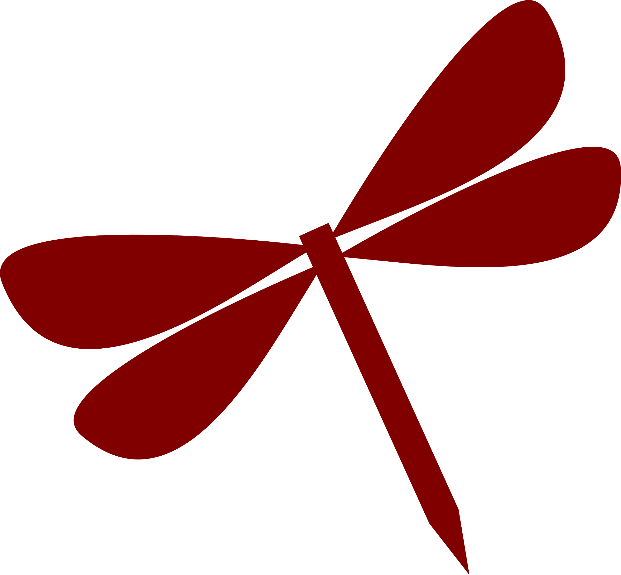 Dragonfly vectorized by Firkin