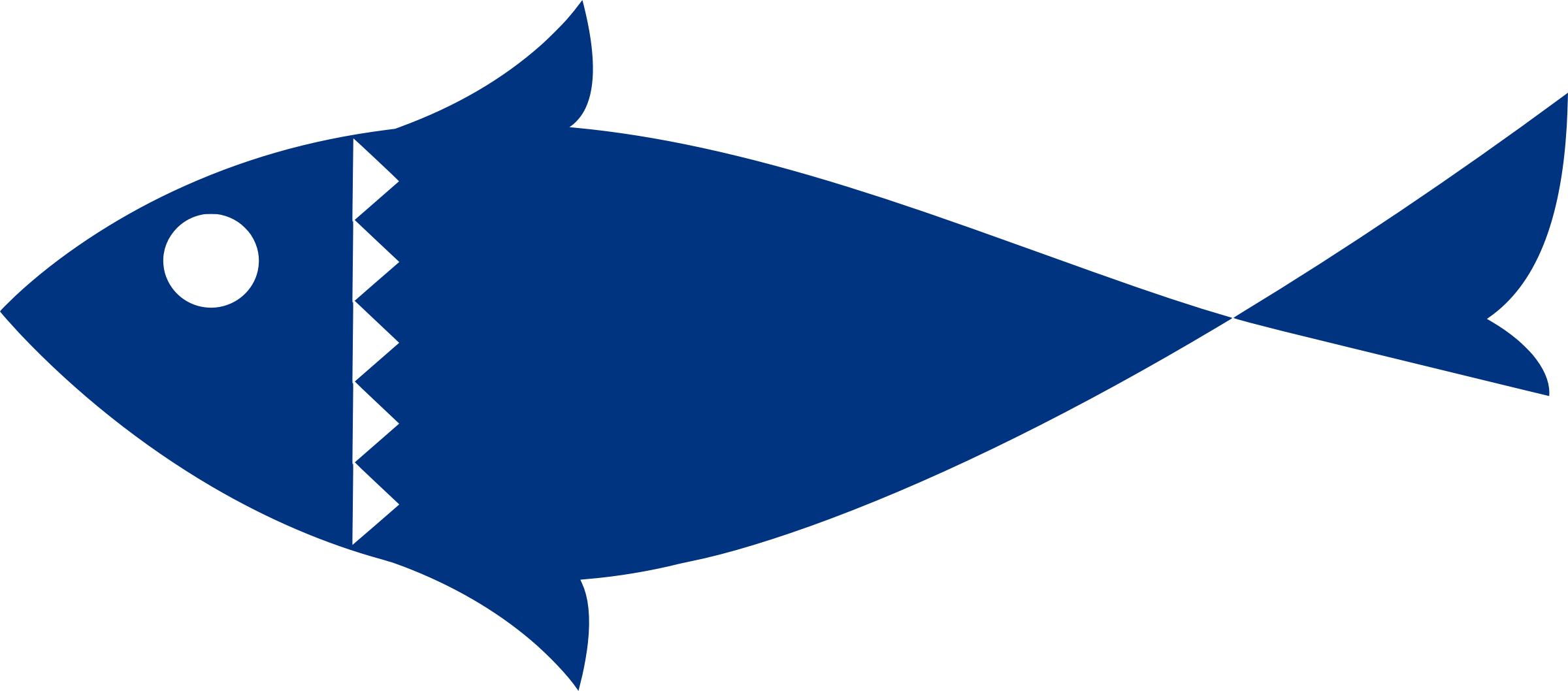 Fish vectorized by Firkin