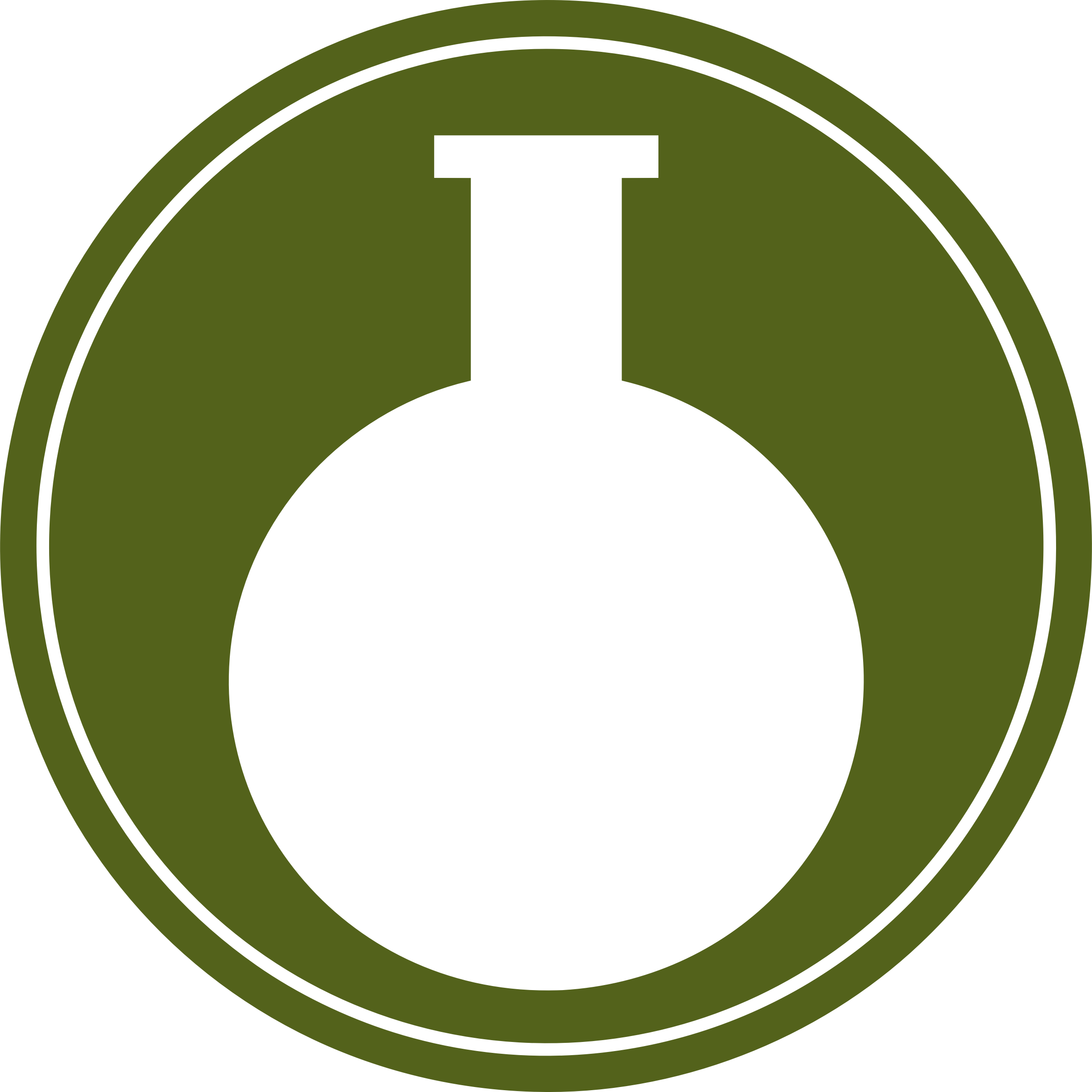 Round bottomed flask vectorized by Firkin