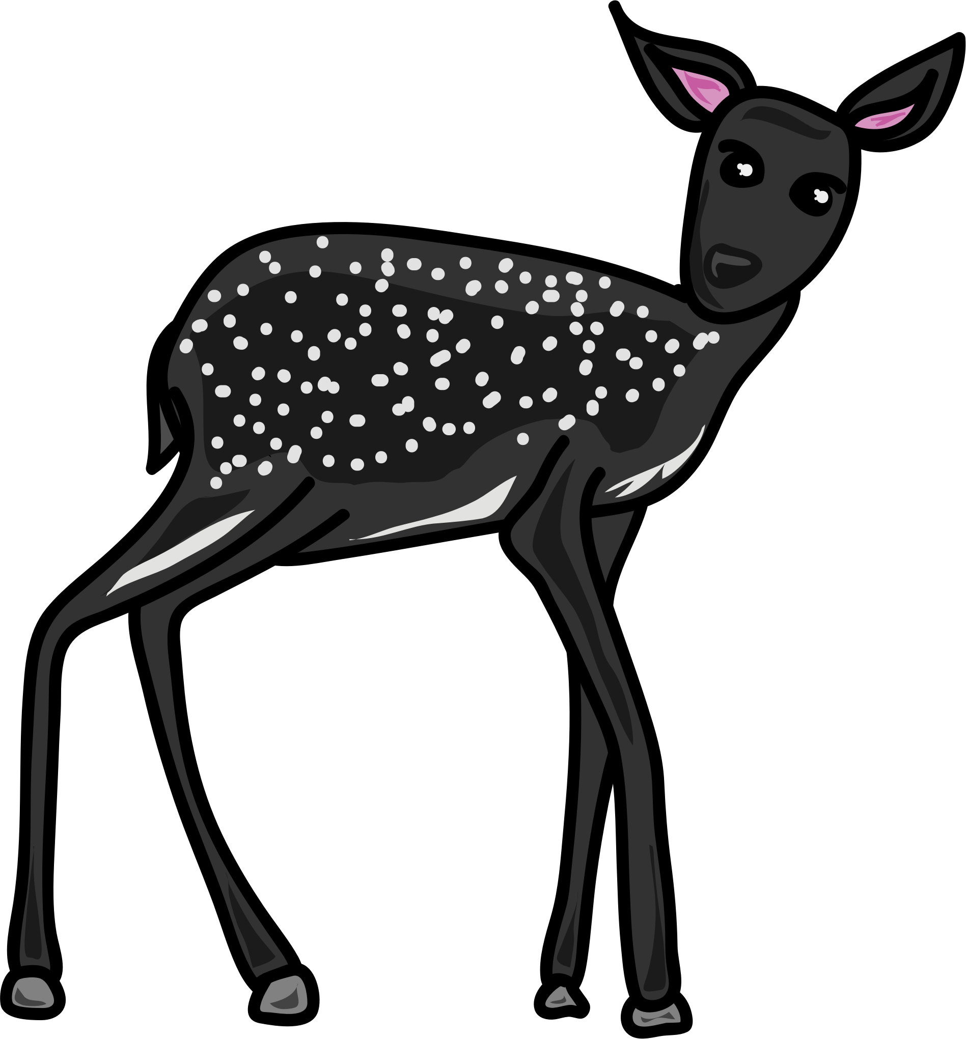 Deer Black by Mahua Sarkar