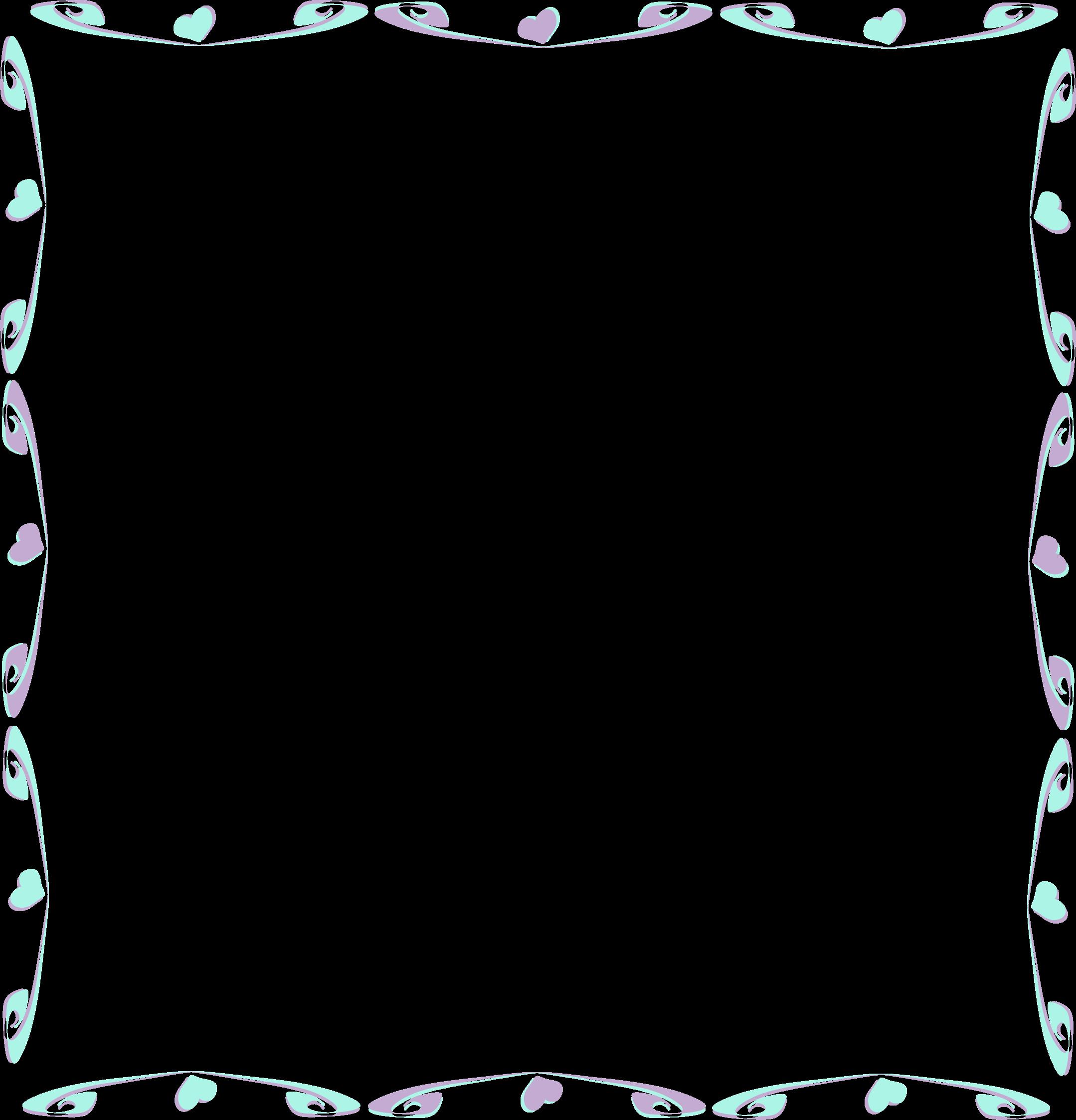 Clipart - Colorful Divider 2 frame