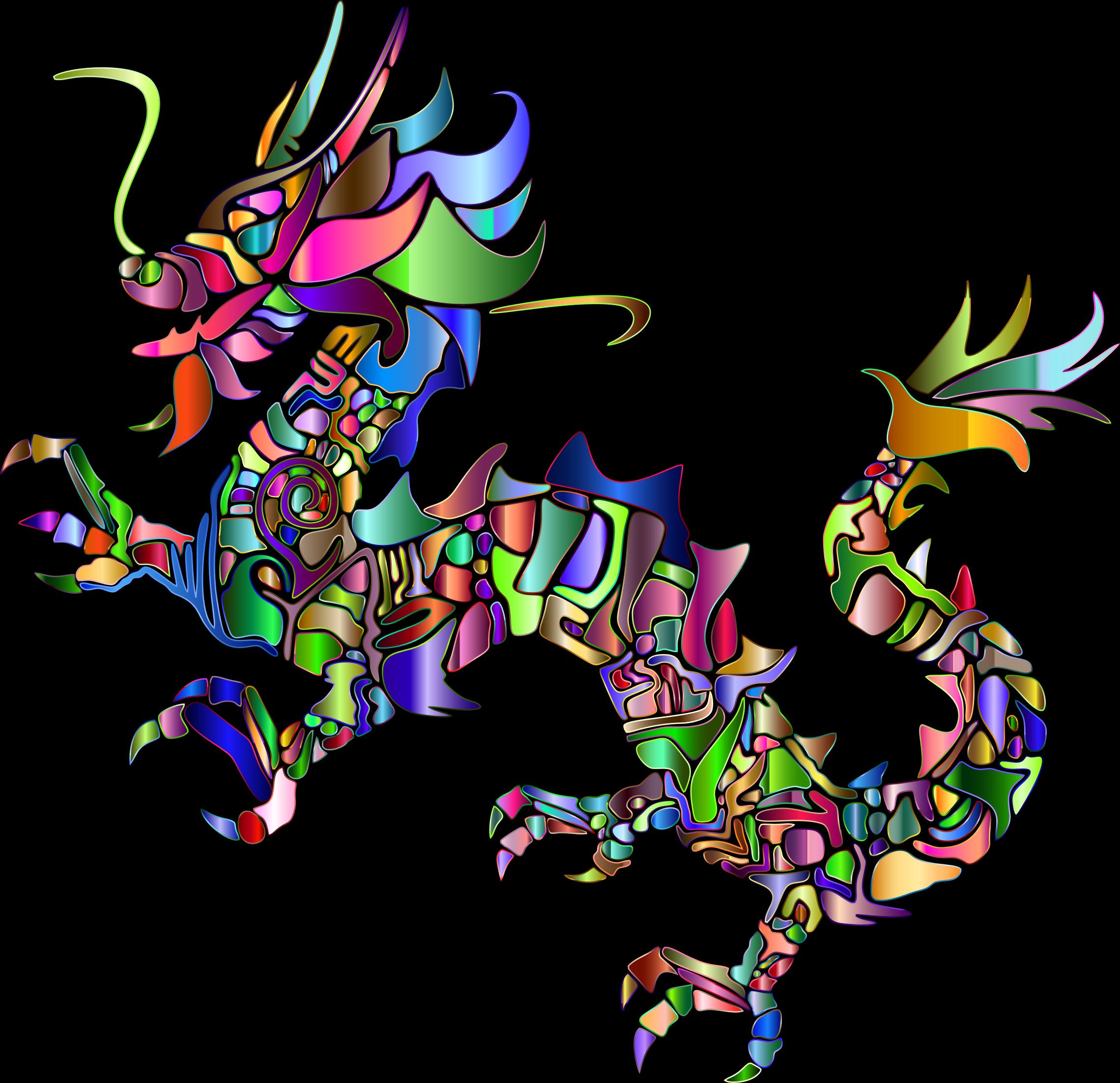 clipart chromatic tribal asian dragon silhouette 2 no monster clip art printable monster clipart jpeg