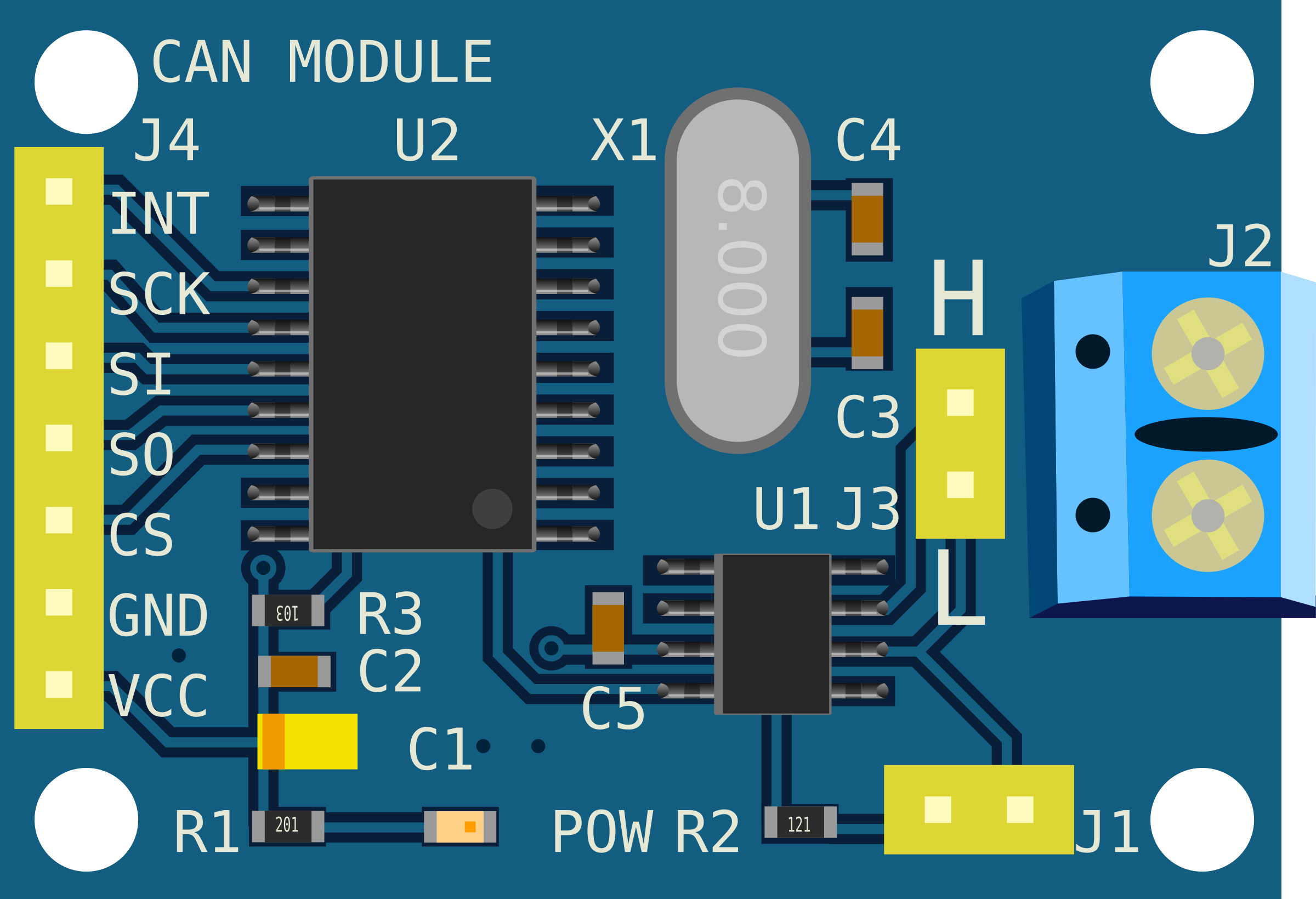 CAN Controller Module by adlerweb