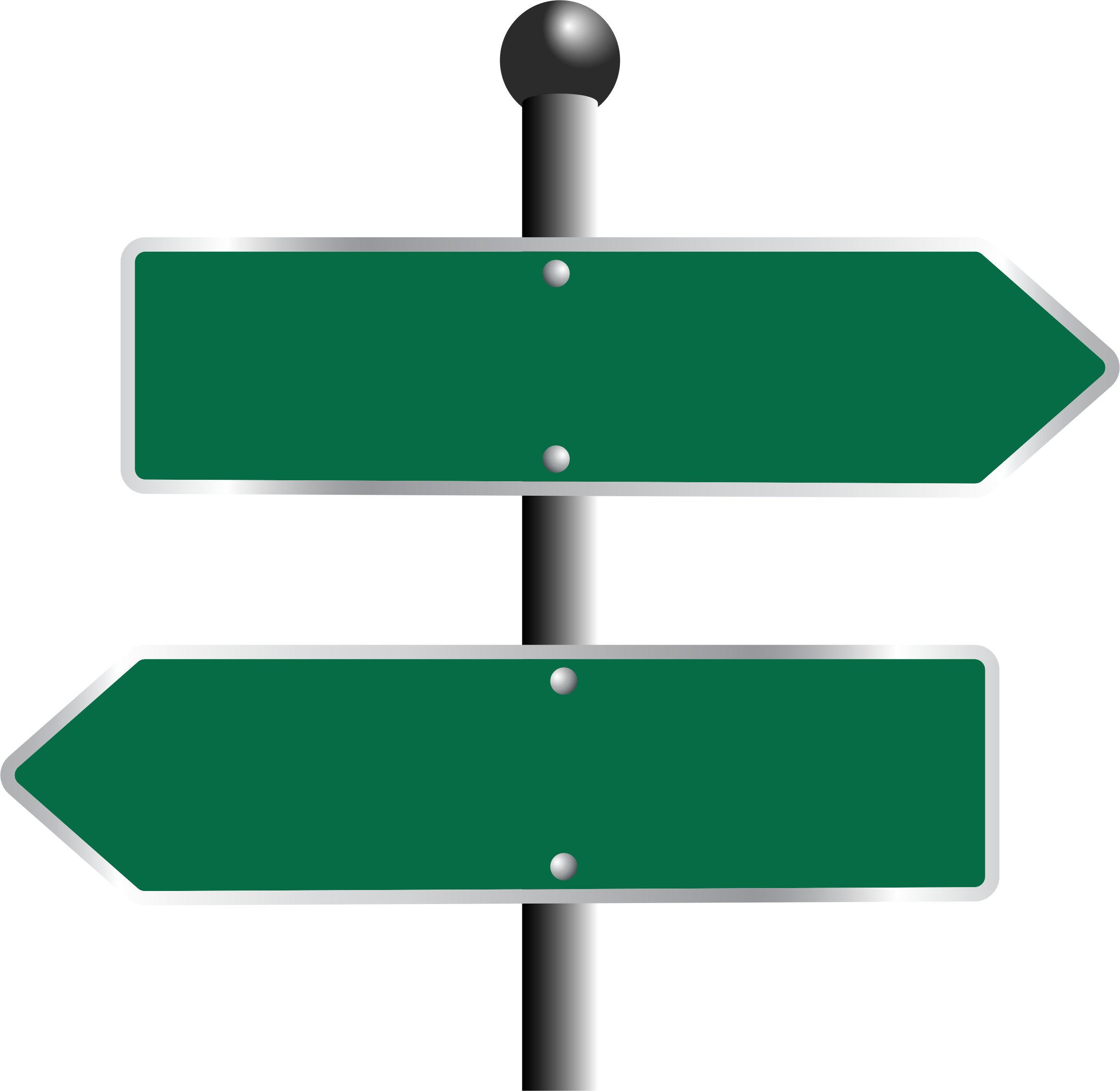 Two Way Sign by GDJ