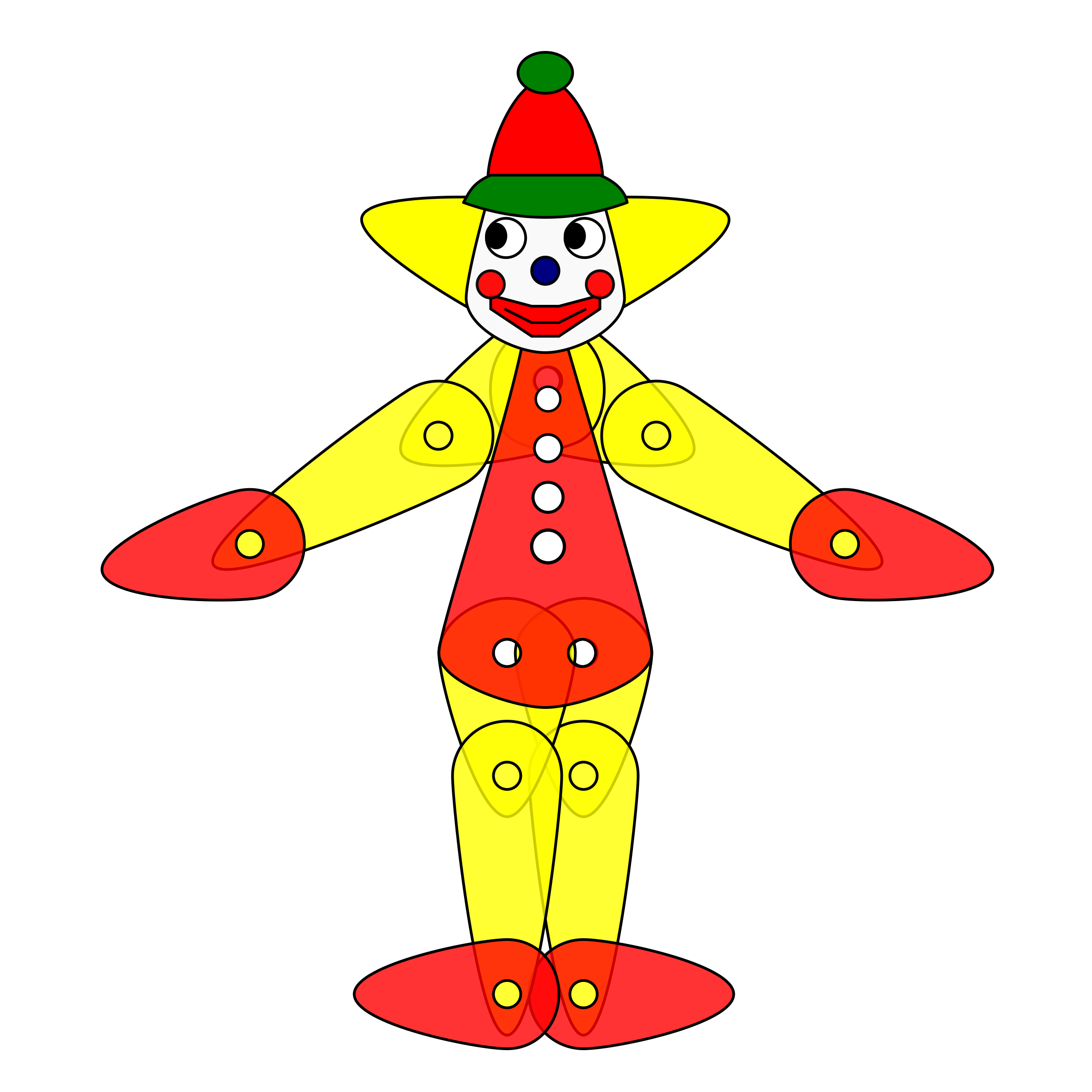 Toy Clown Puppet Animation by aukipa