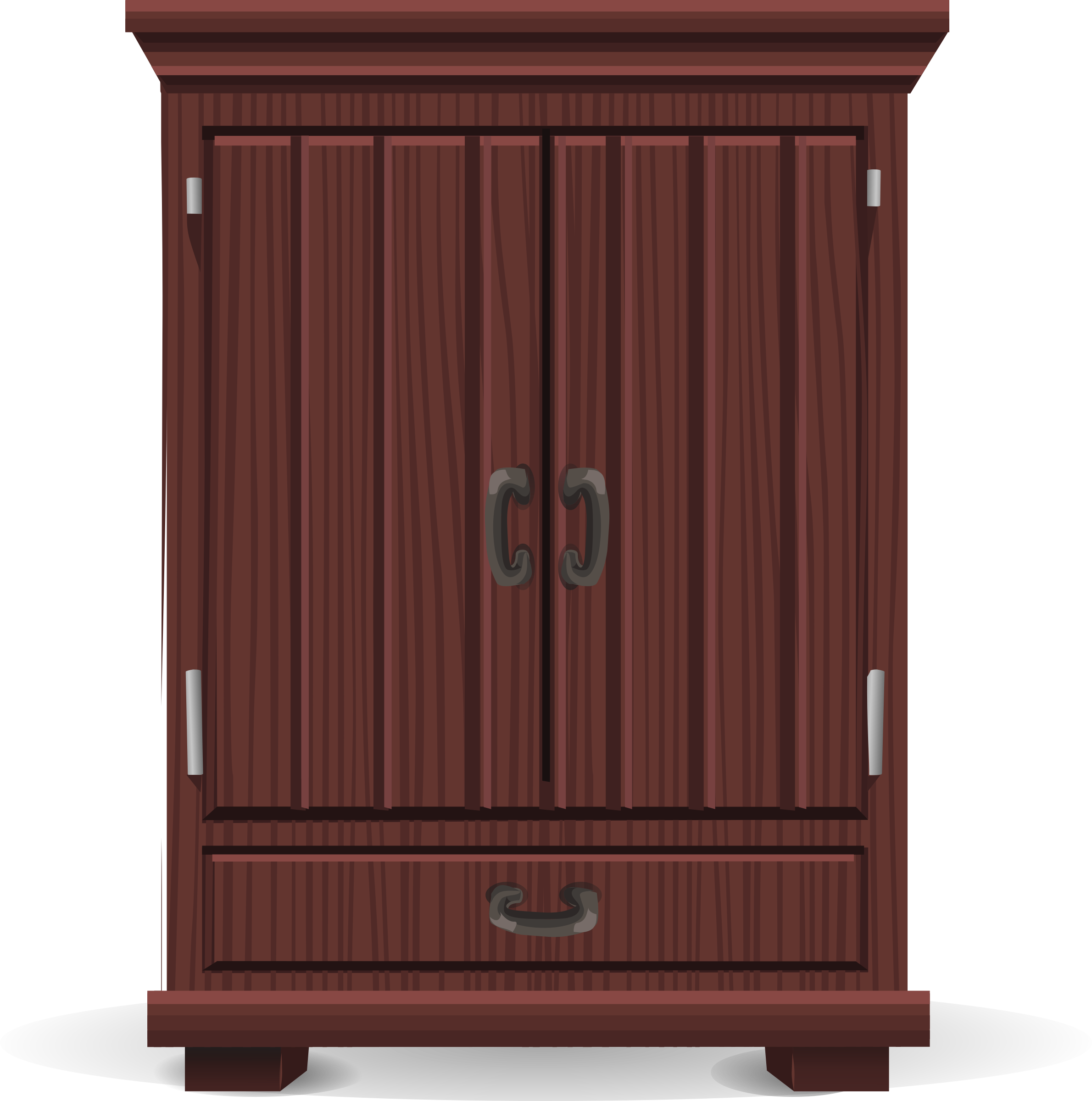 Mahogany cabinet from Glitch by anarres
