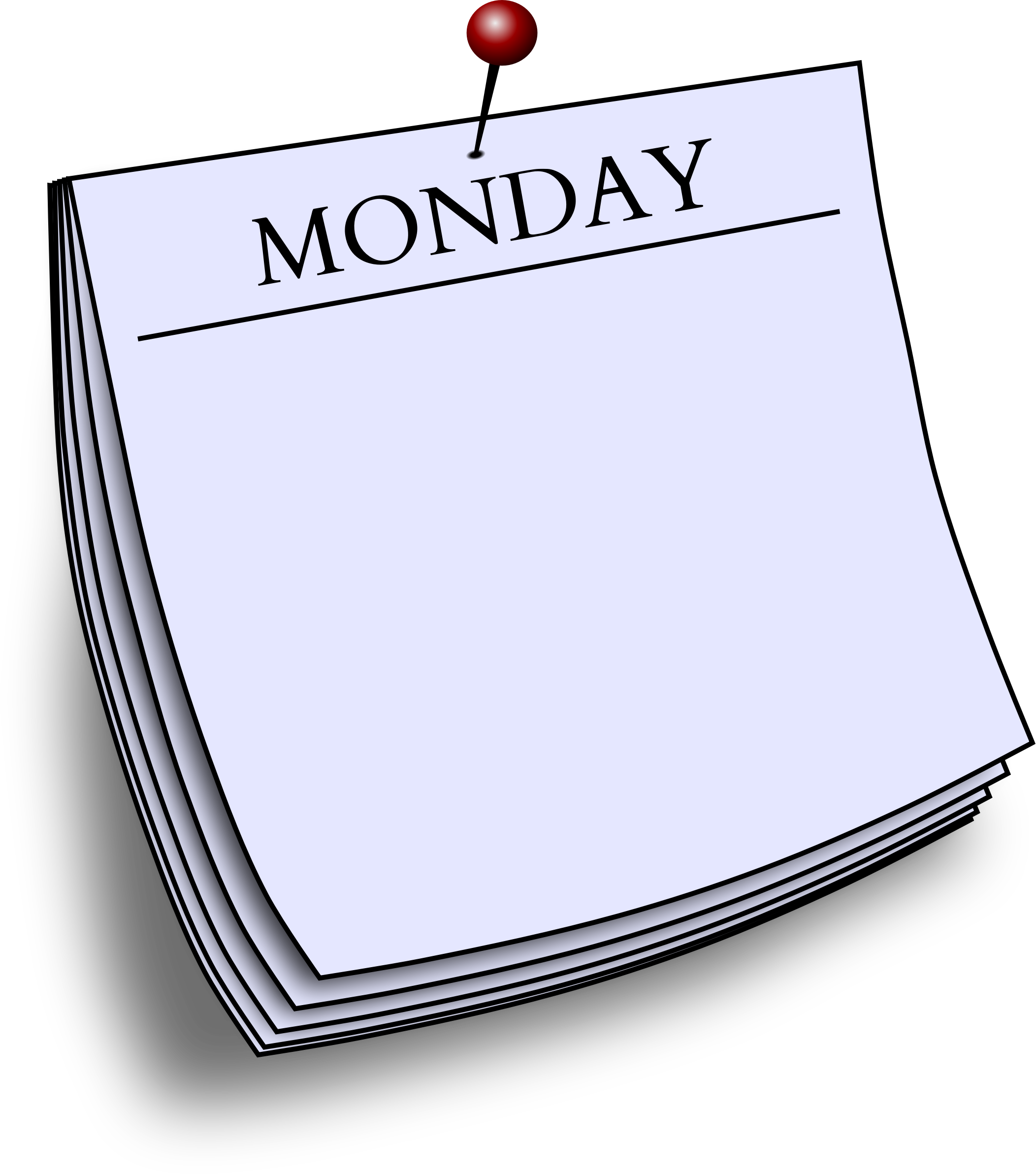 Daily note - Monday by Firkin
