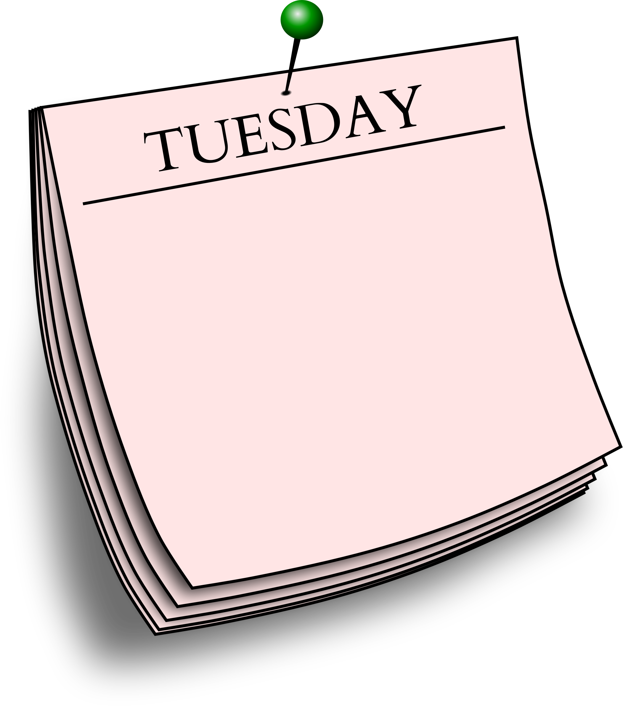 Daily note - Tuesday by Firkin