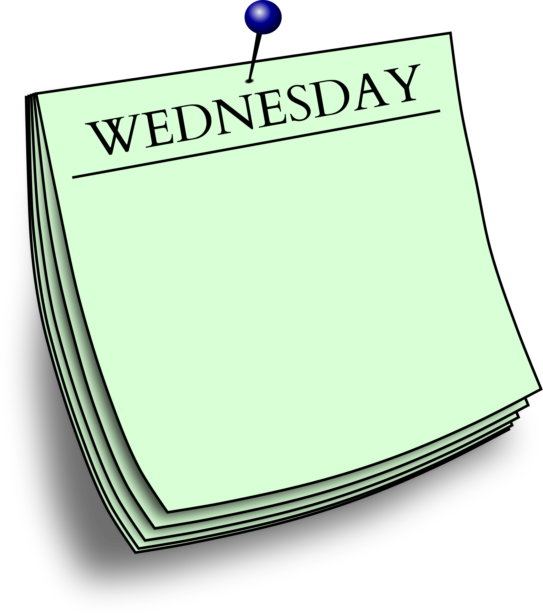 Daily note - Wednesday by Firkin