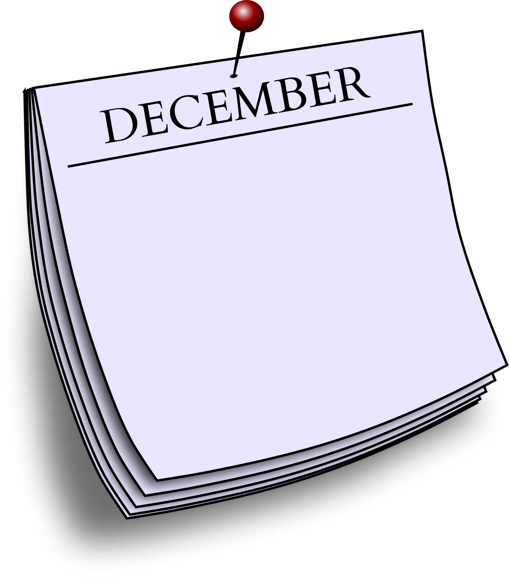 Monthly note - December by Firkin