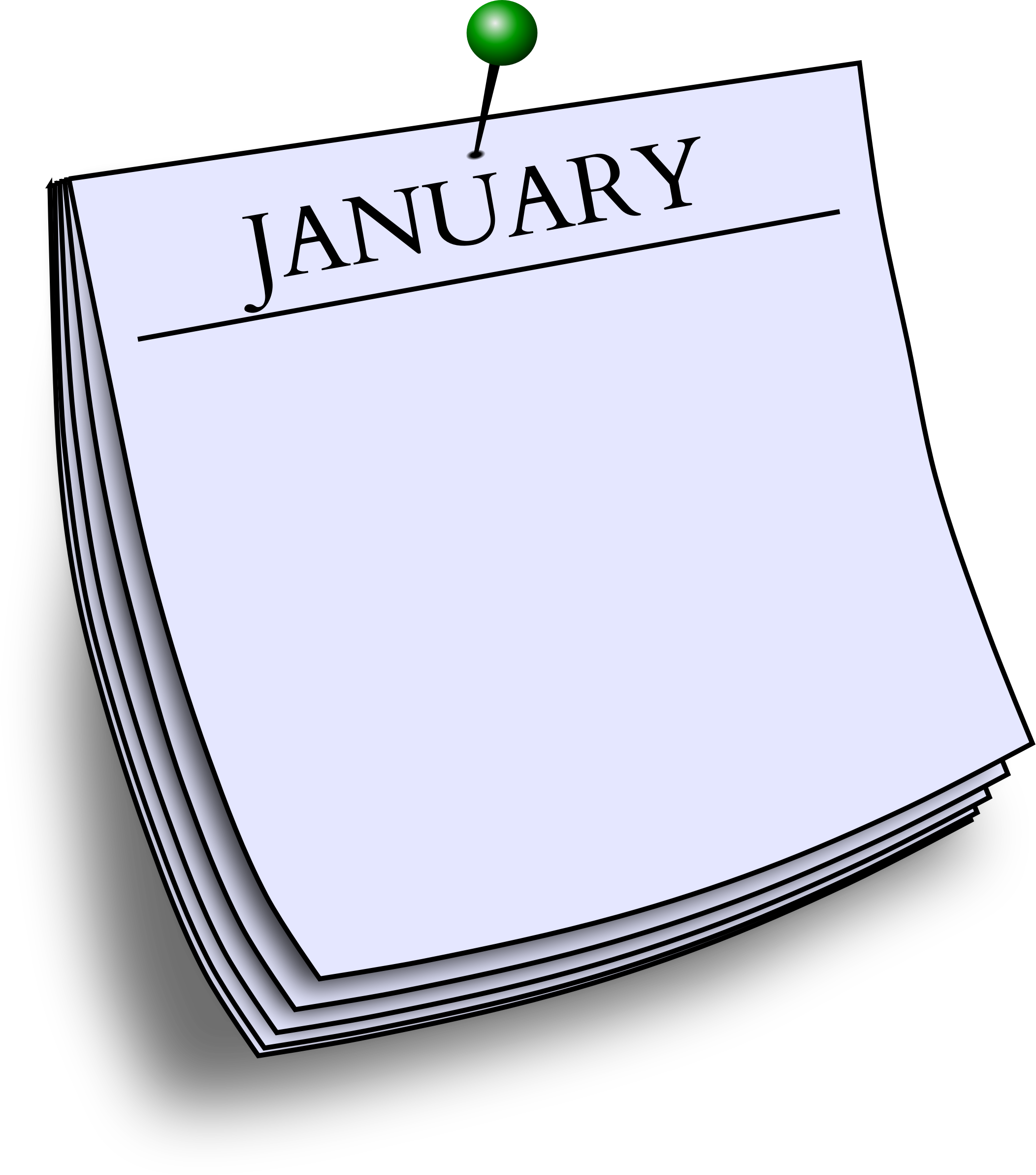 Monthly note - January by Firkin