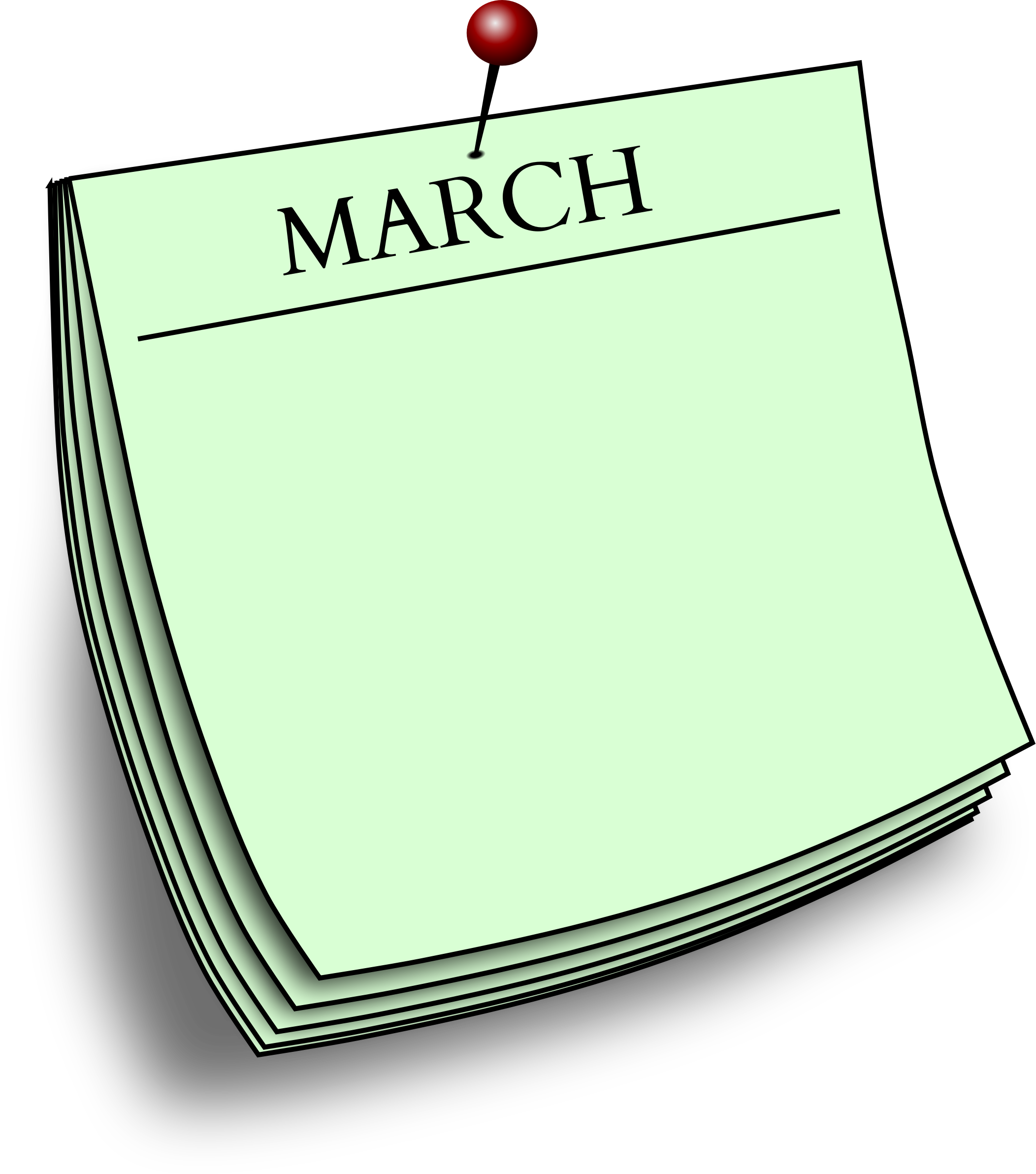 Monthly note - March by Firkin
