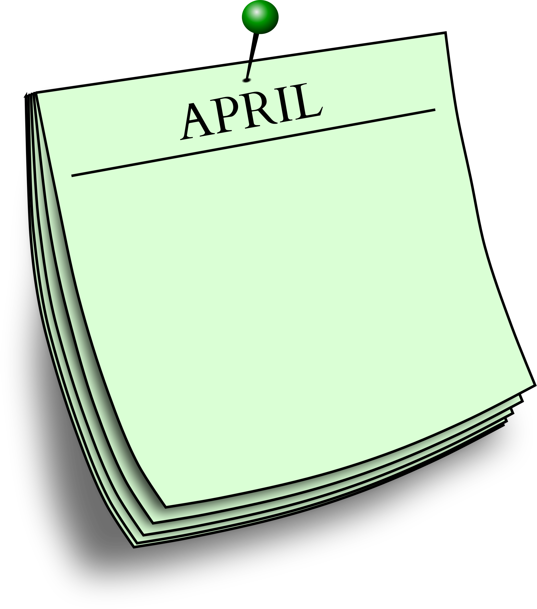 Monthly note - April by Firkin