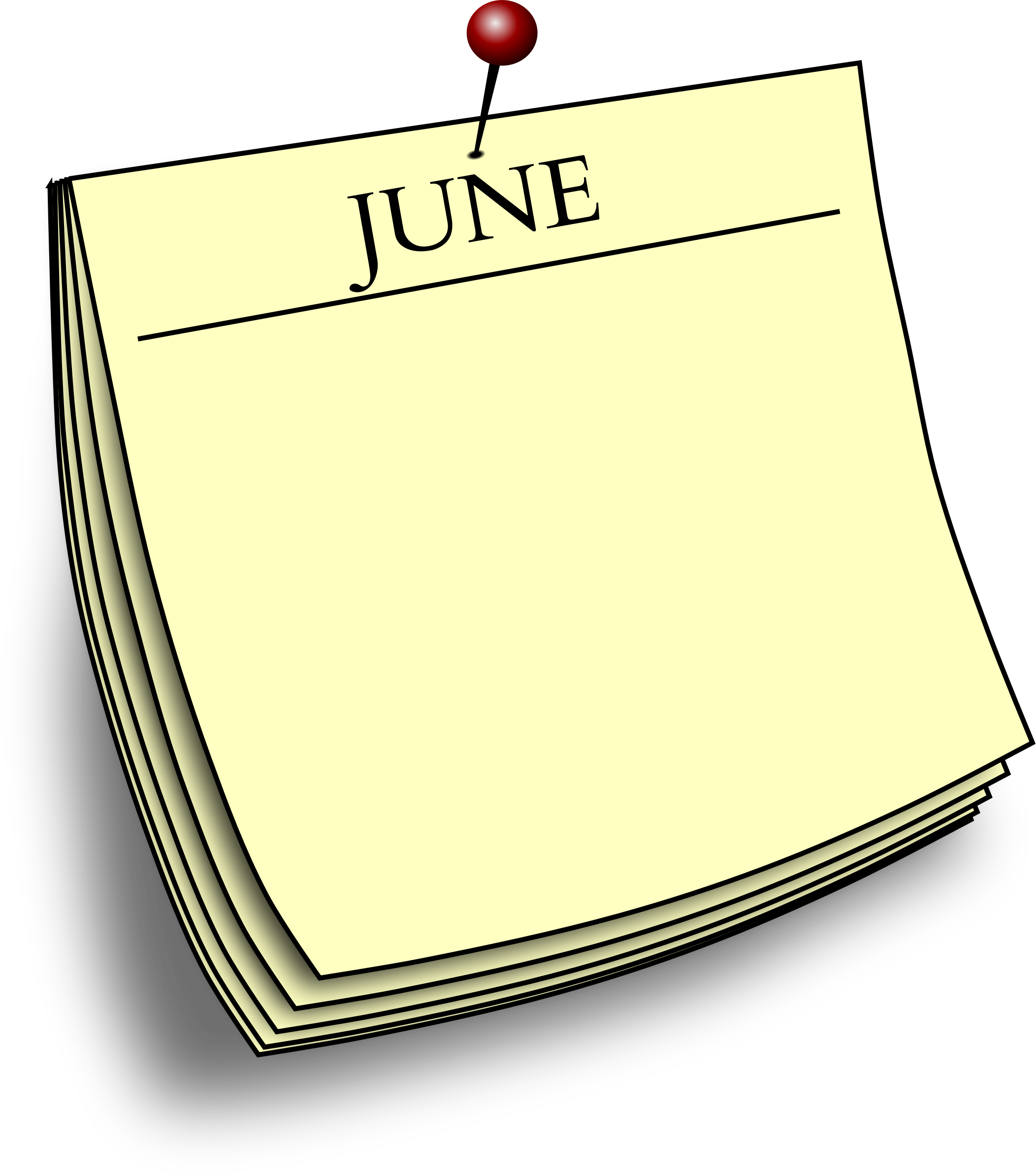 Monthly note - June by Firkin