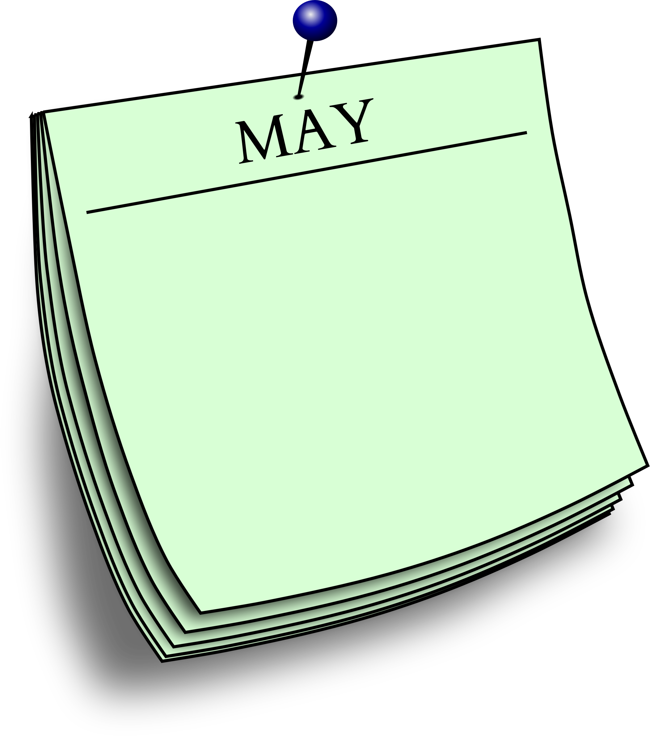 Monthly note - May by Firkin