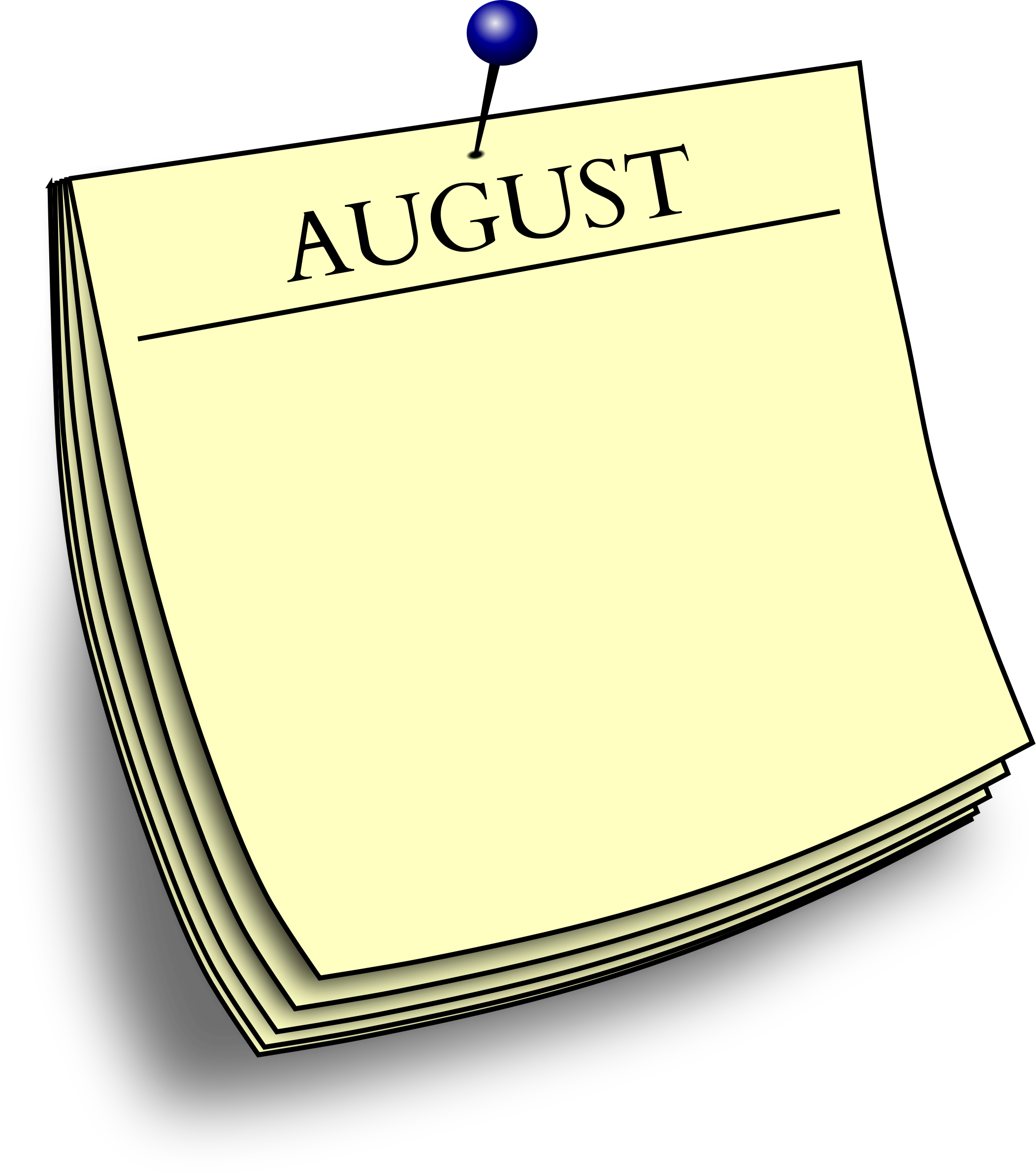 Monthly note - August by Firkin