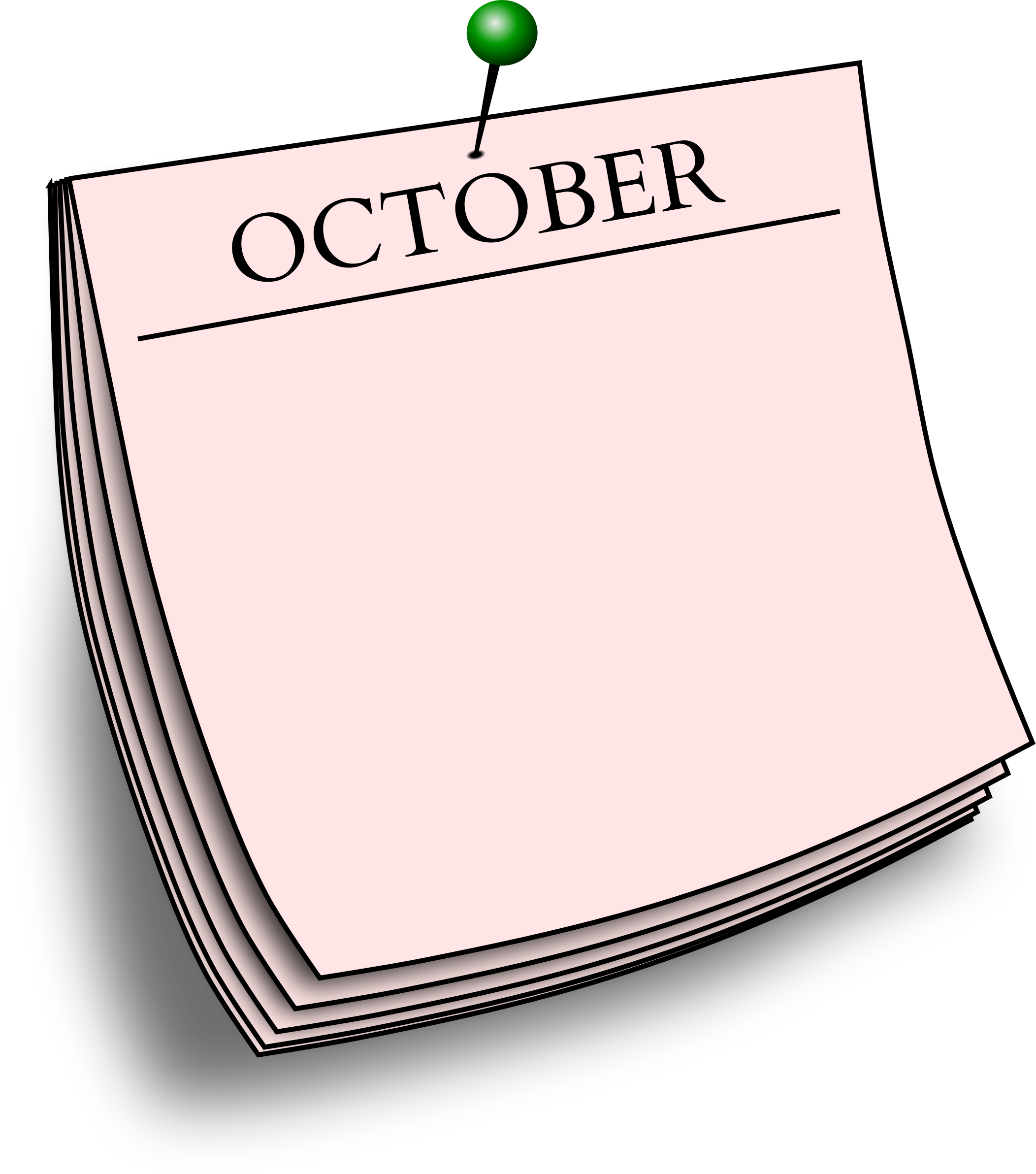 Monthly note - October by Firkin