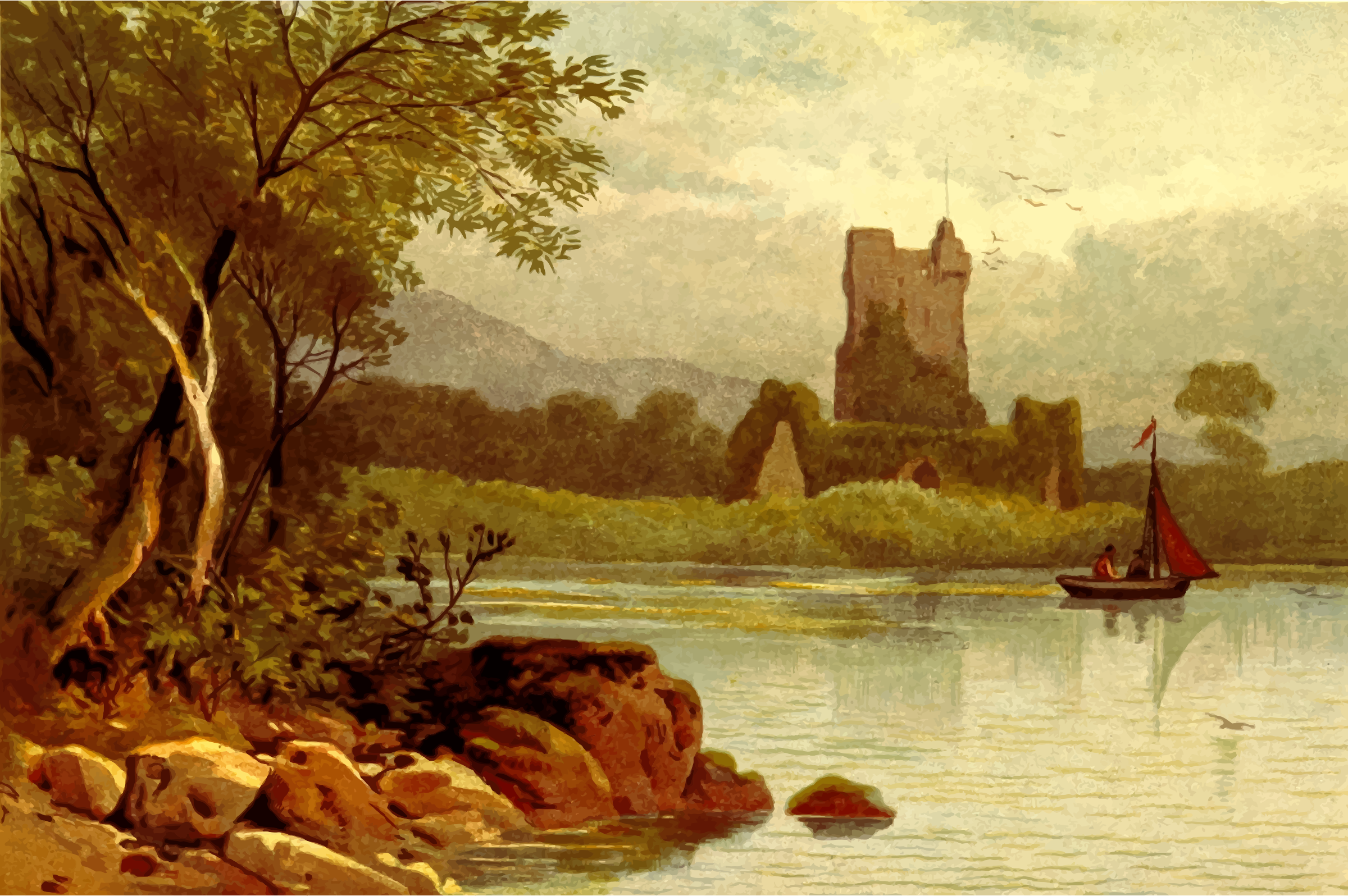 Ross Castle by Firkin