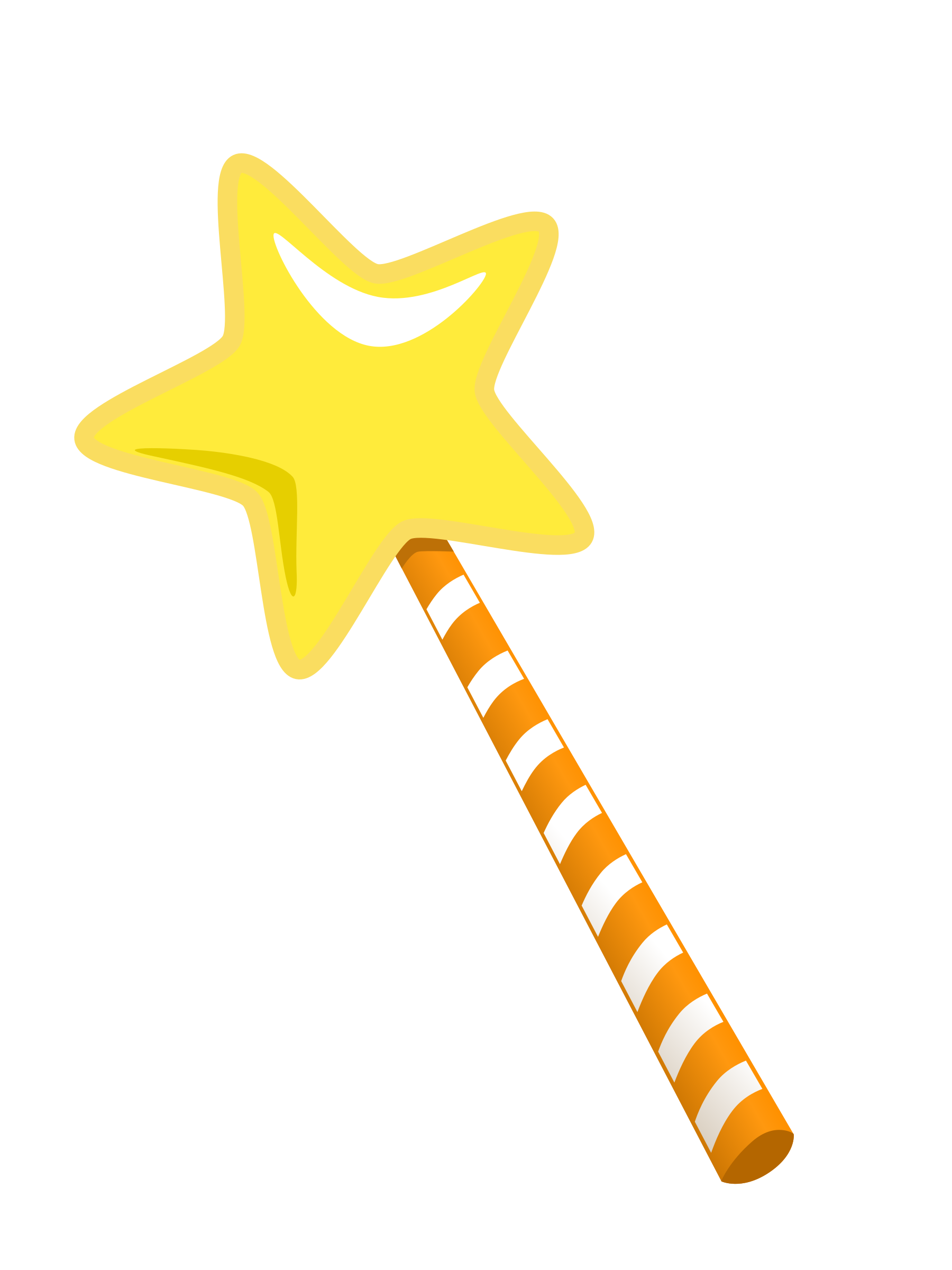 magic wand cartoon style by monsterbraingames