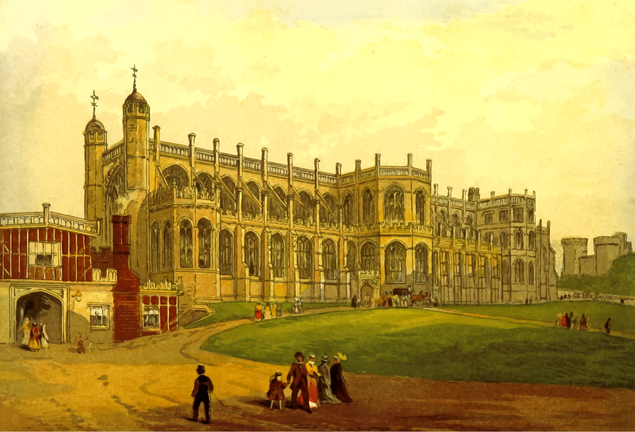 St George's Chapel by Firkin