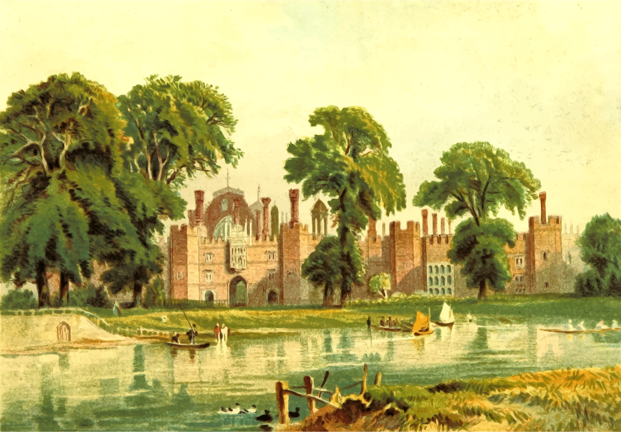 Hampton Court Palace by Firkin