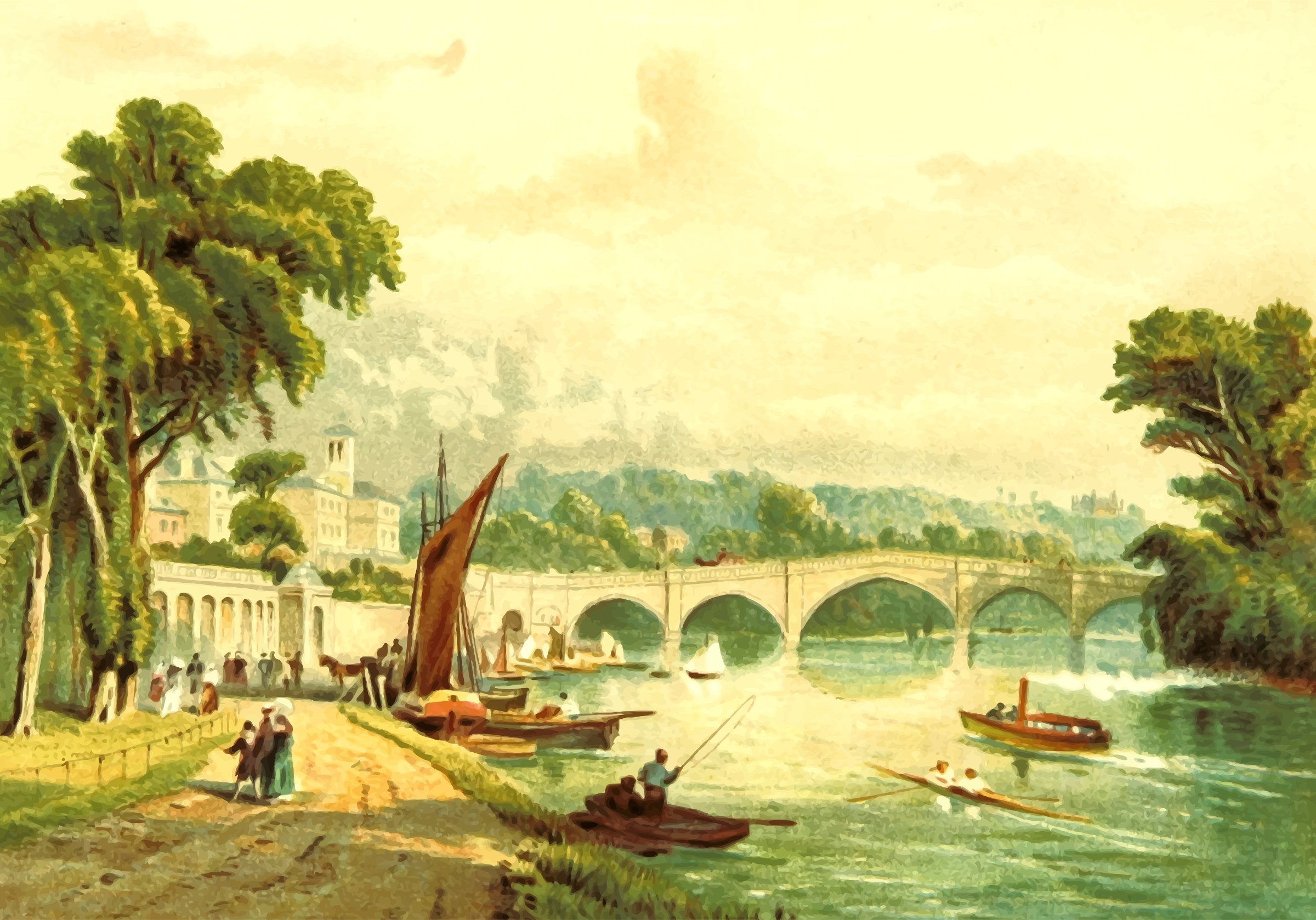 Richmond Bridge by Firkin