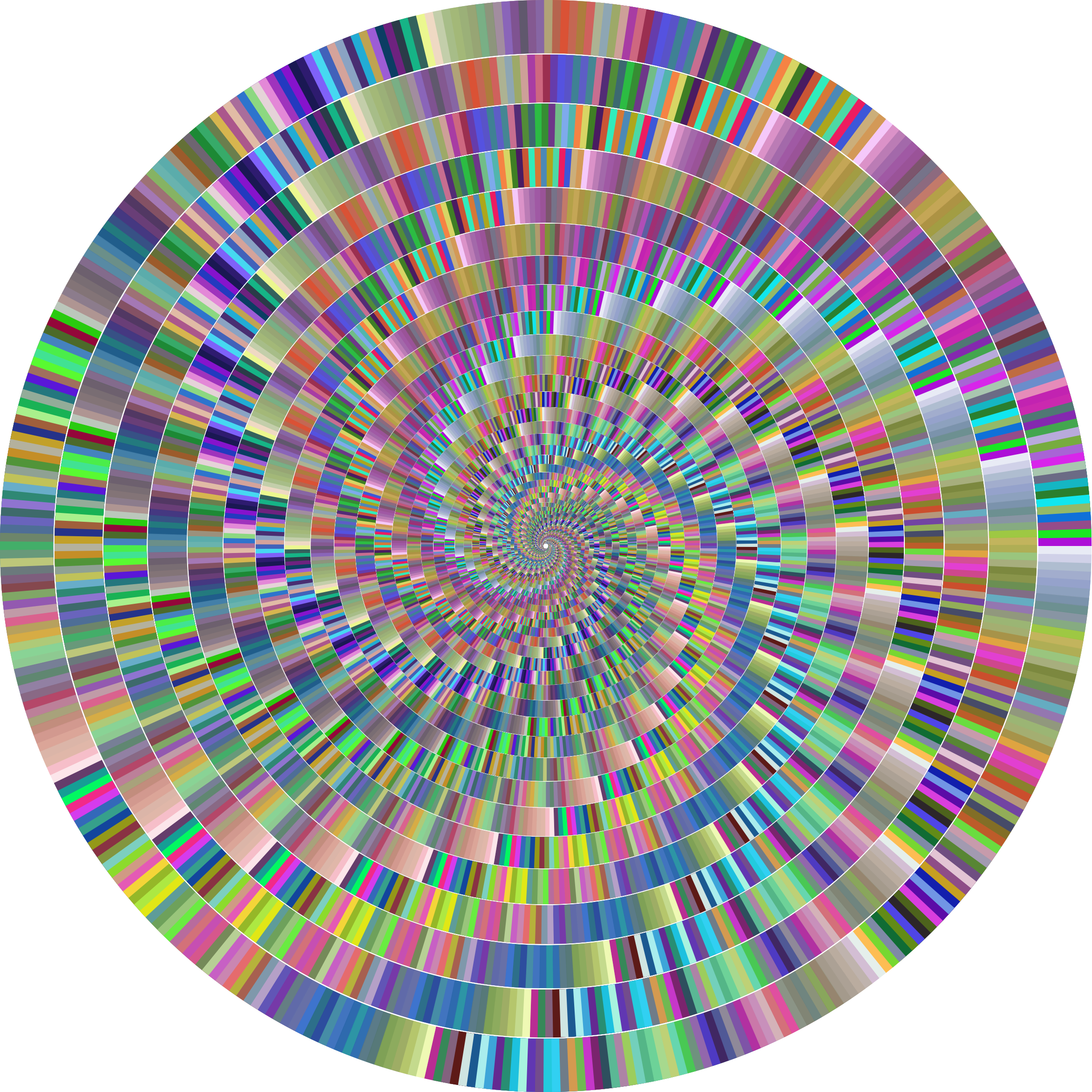 Prismatic Concentric Vortex by GDJ