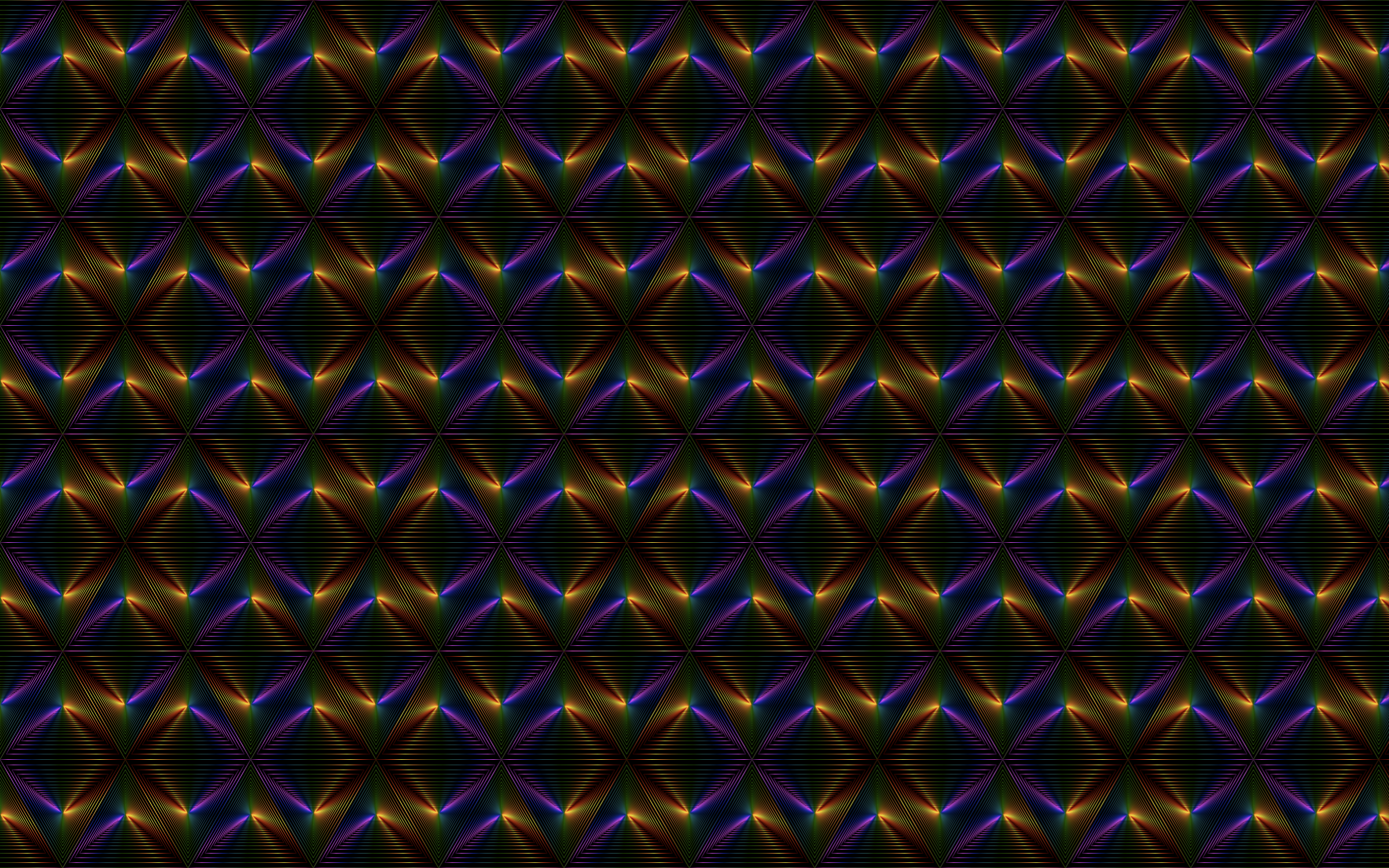 Prismatic Triangular Seamless Pattern II With Background by GDJ