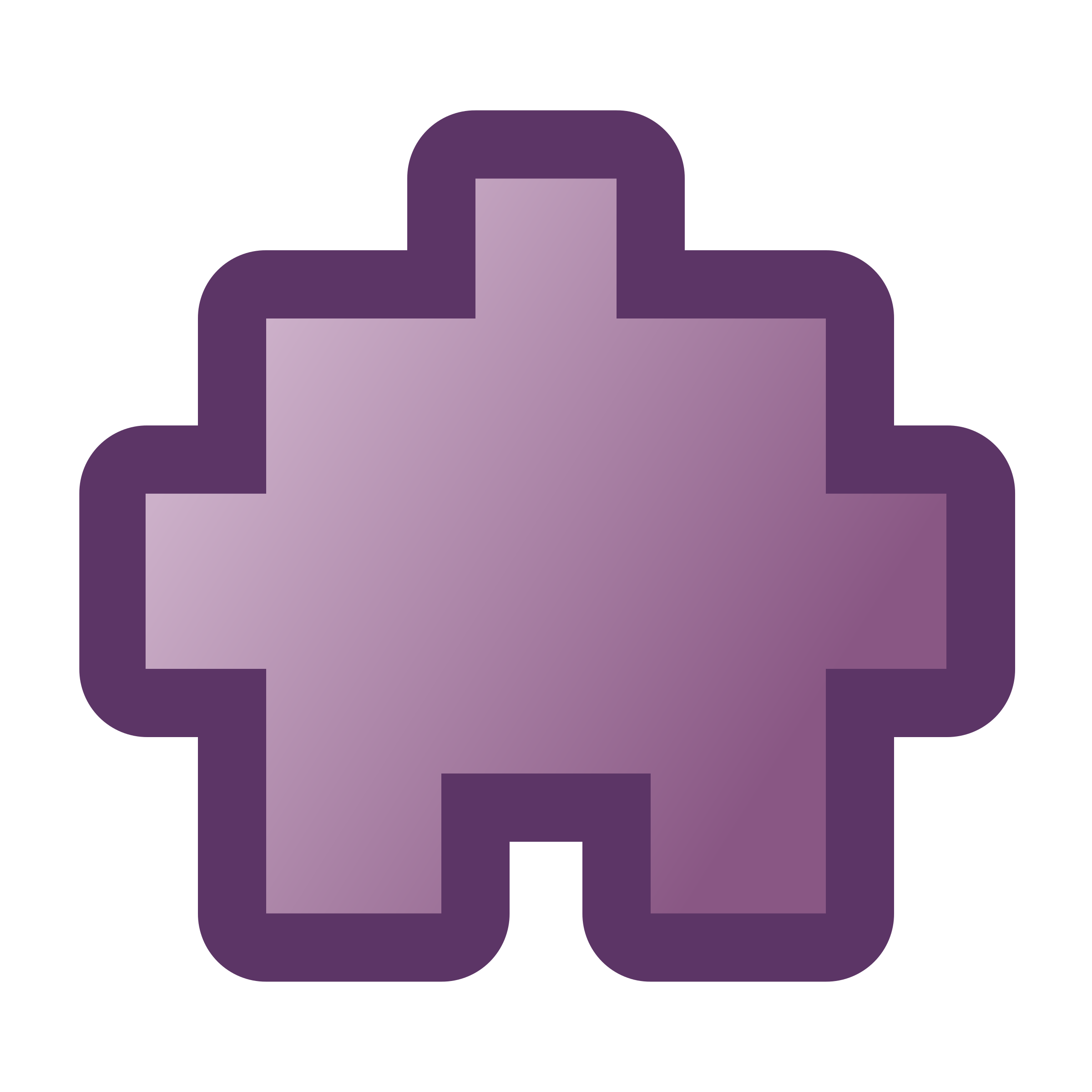 icon-puzzle2-purple by jean_victor_balin
