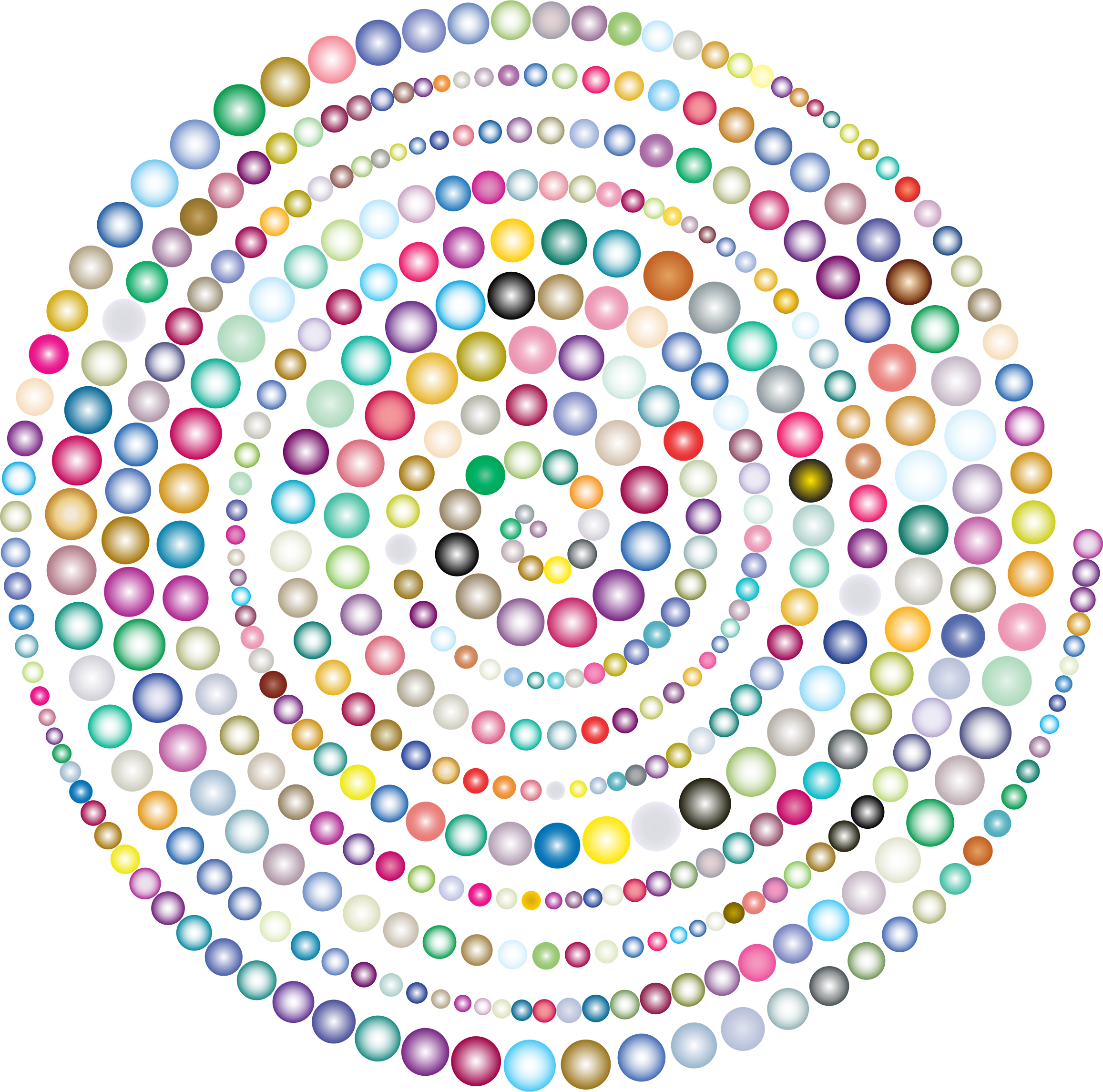 Circles Spiral Prismatic 2 by GDJ