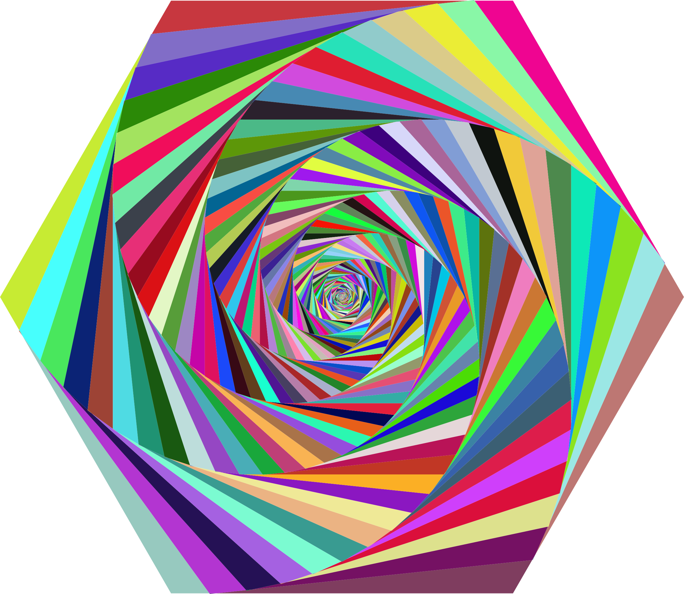 Prismatic Hexagonal Art by GDJ
