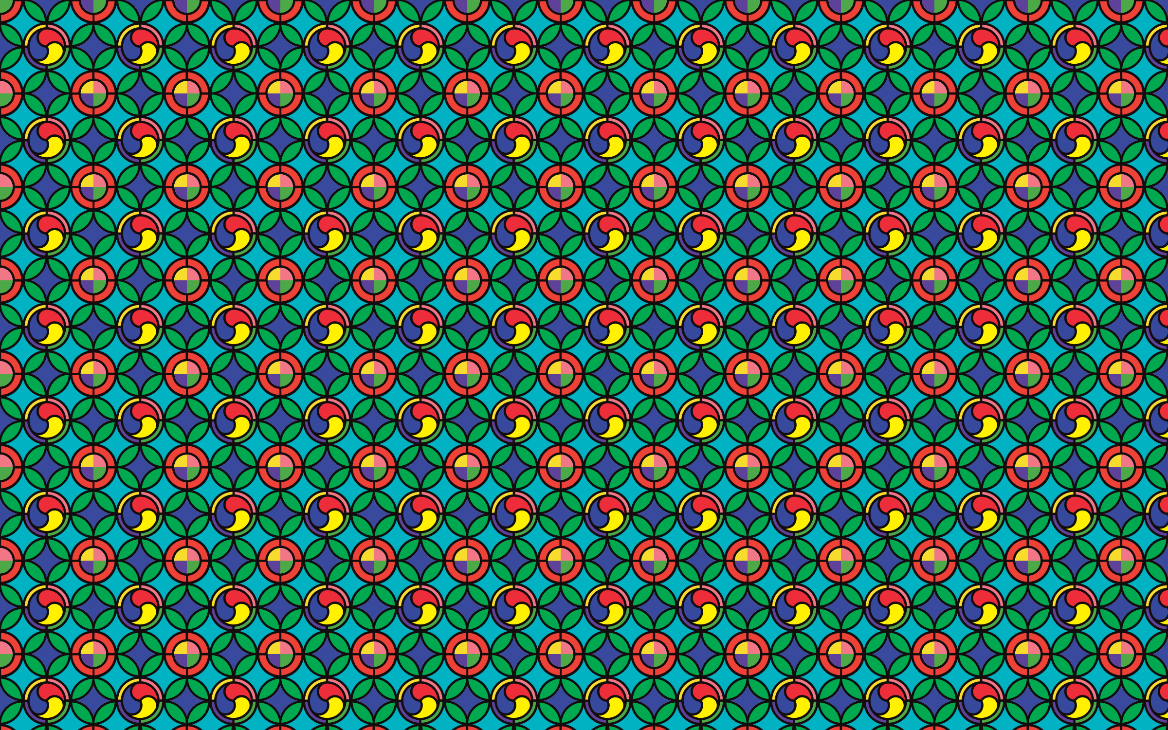 Seamless Geometrical Pattern by GDJ