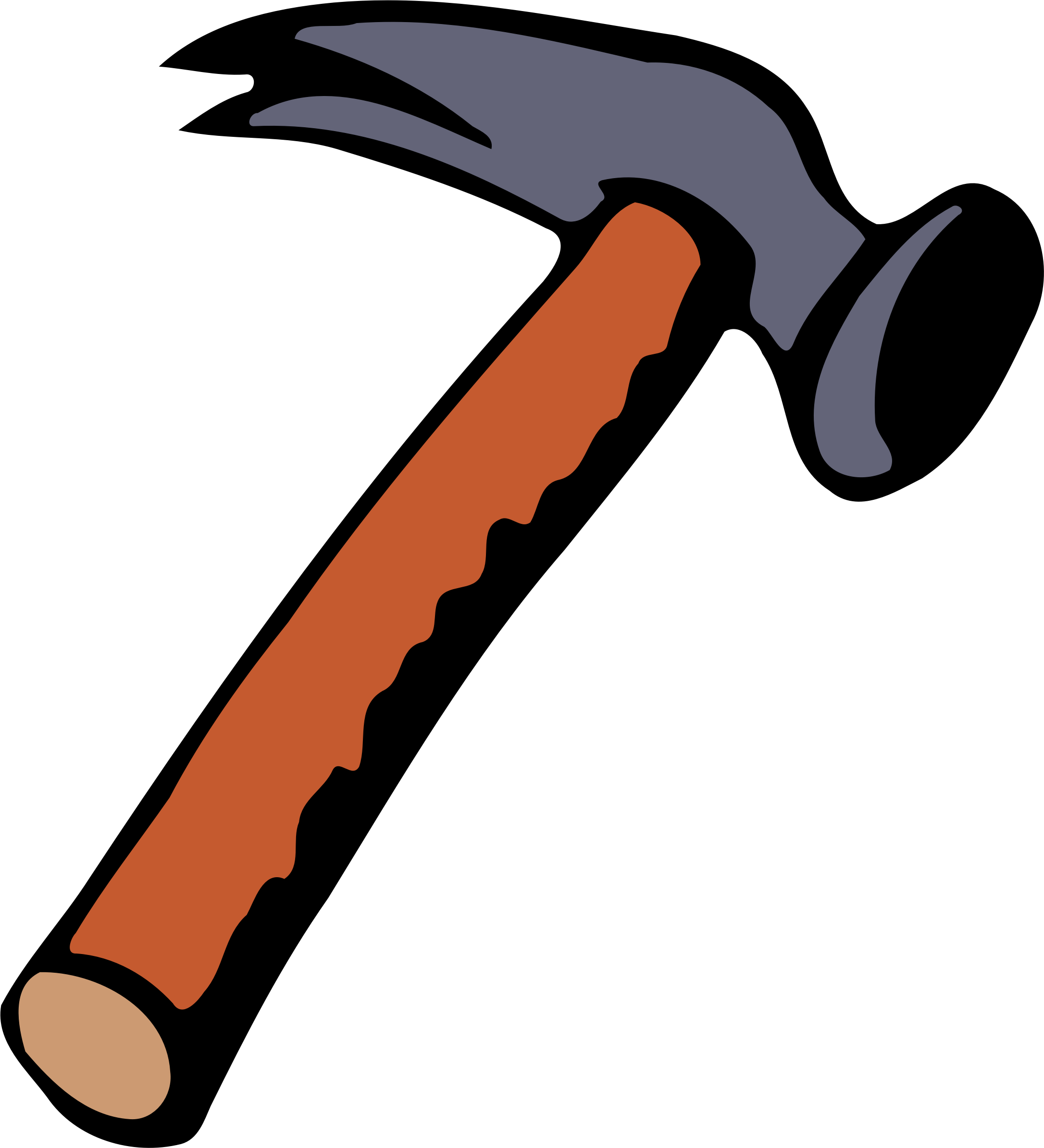 clipart hammer 2 rh openclipart org clip art hammer and saw hammer clipart