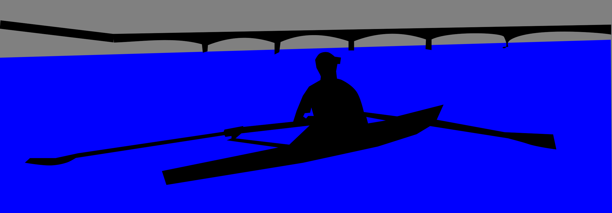 Single Scull Rower by algotruneman