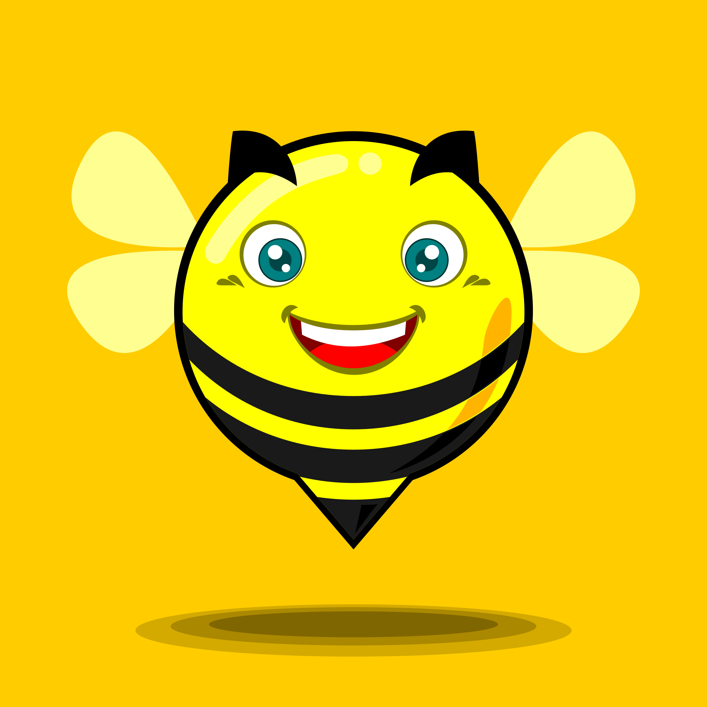 funny bee by nugroho