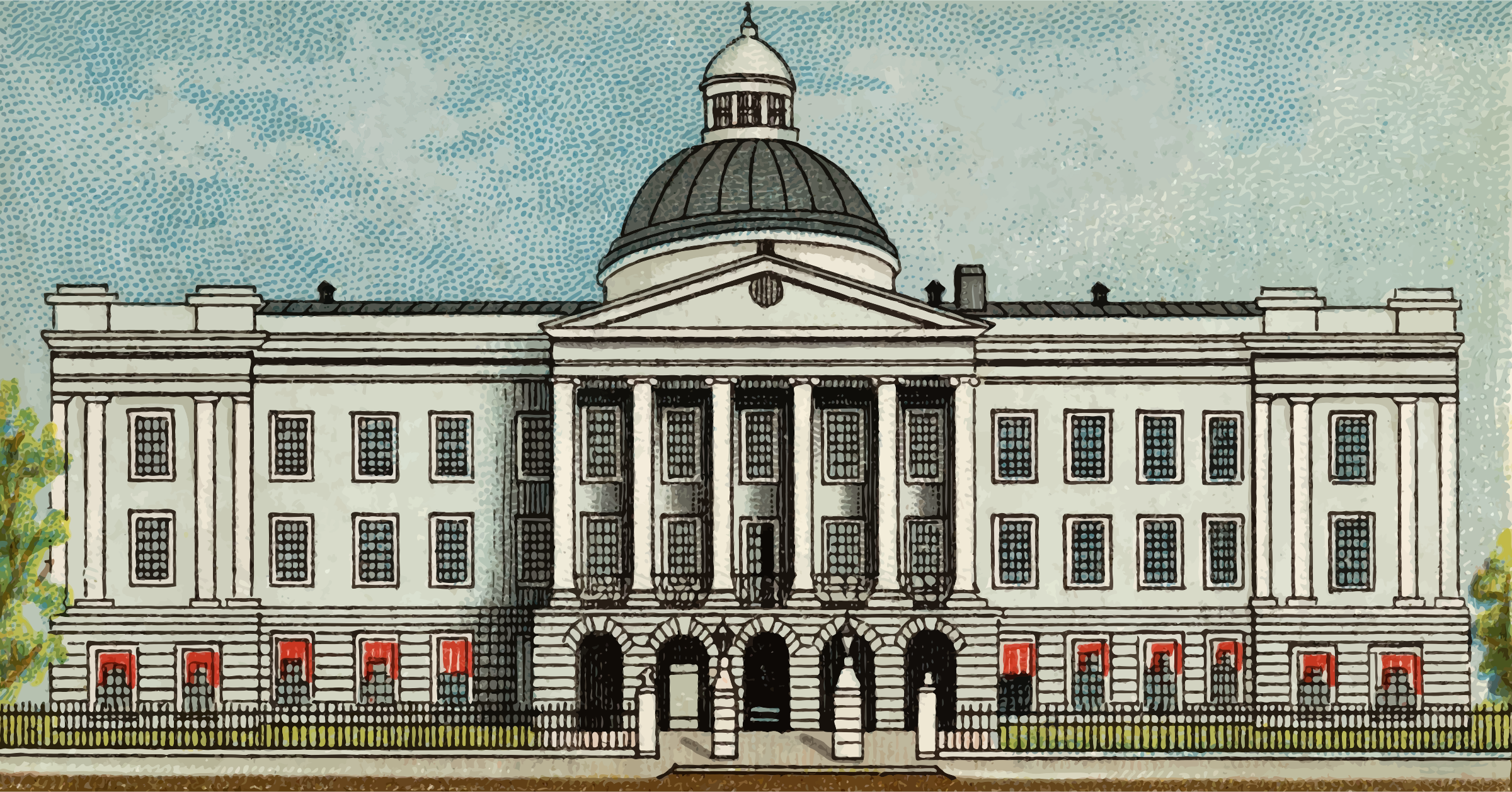 Cigarette Card - Capitol Building of Mississippi by Firkin